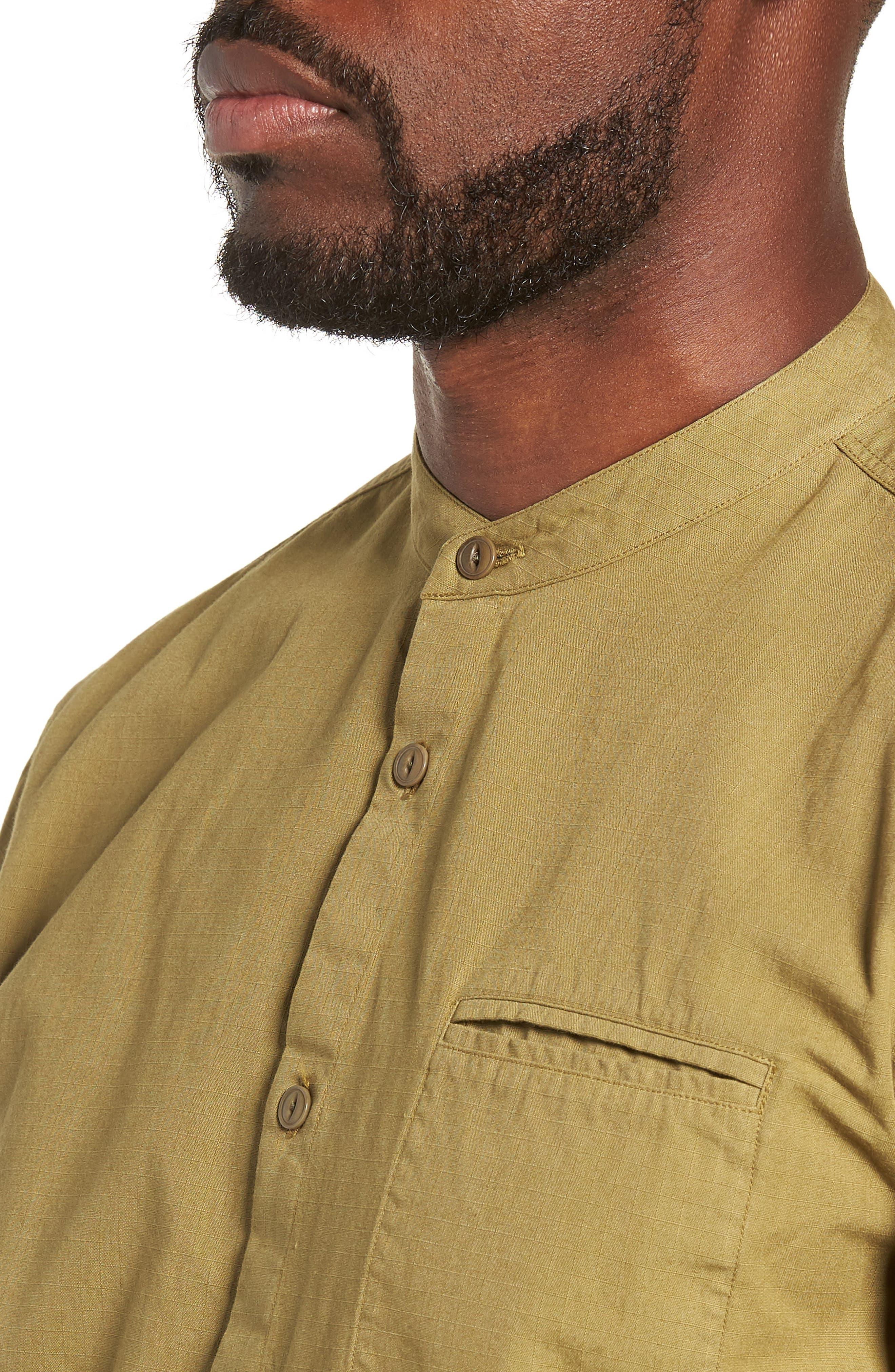 Ripstop Beach Shirt,                             Alternate thumbnail 2, color,                             GREEN