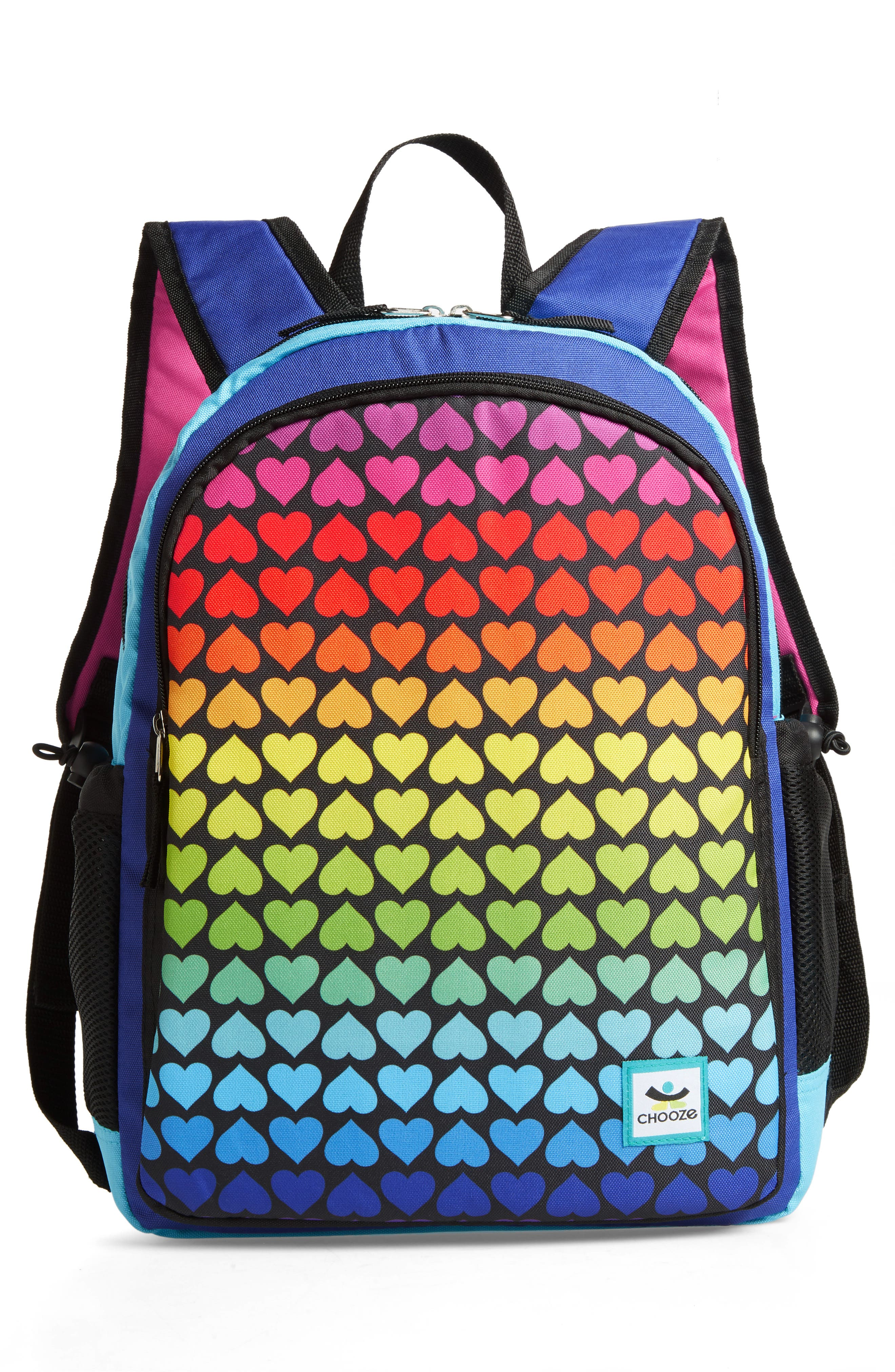 Hue Rainbow Reversible Backpack,                             Alternate thumbnail 2, color,                             001