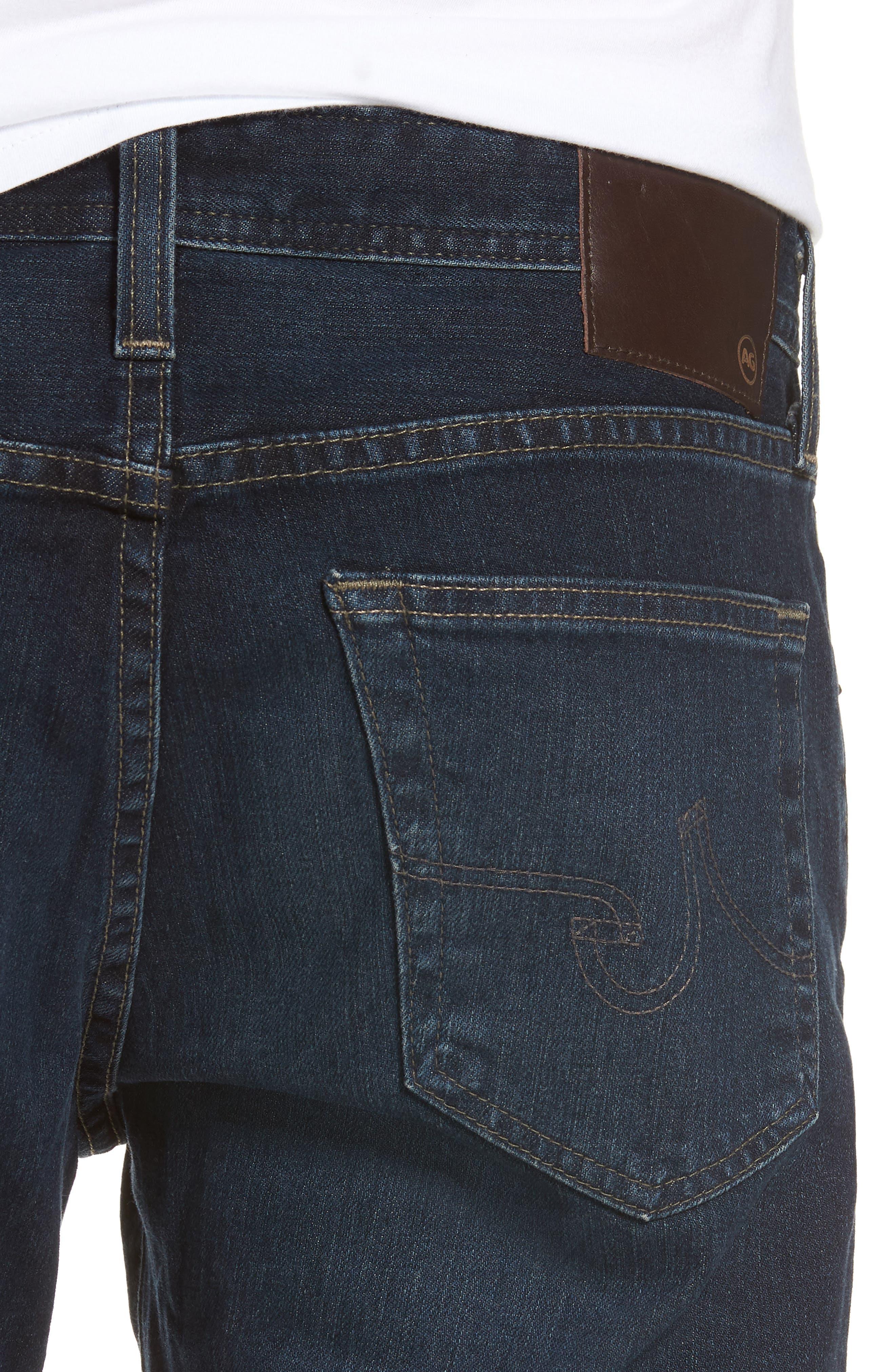 Dylan Skinny Fit Jeans,                             Alternate thumbnail 4, color,                             493