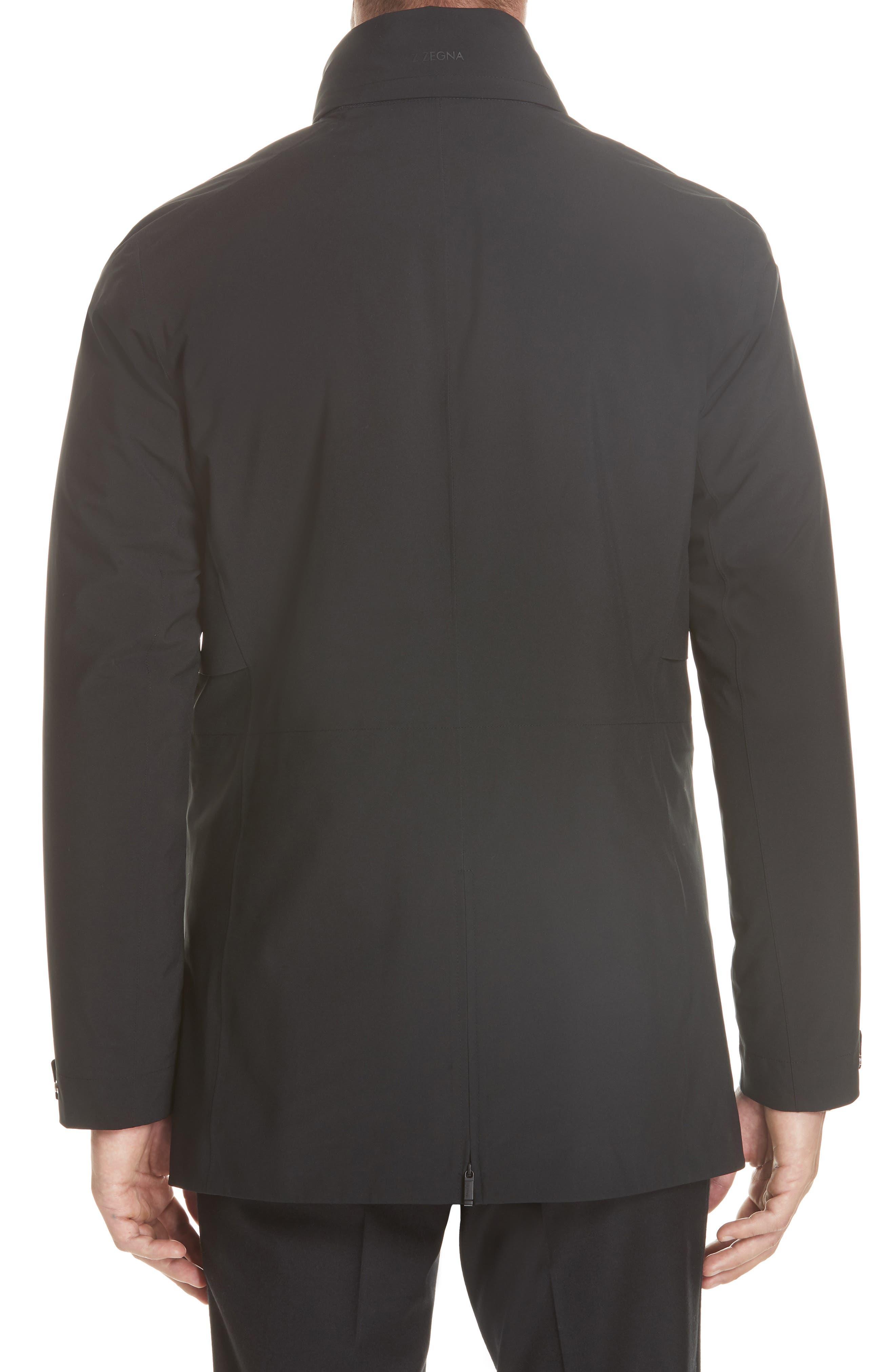 Z Zenga Trim Fit 3-in-1 Jacket,                             Alternate thumbnail 3, color,                             BLACK