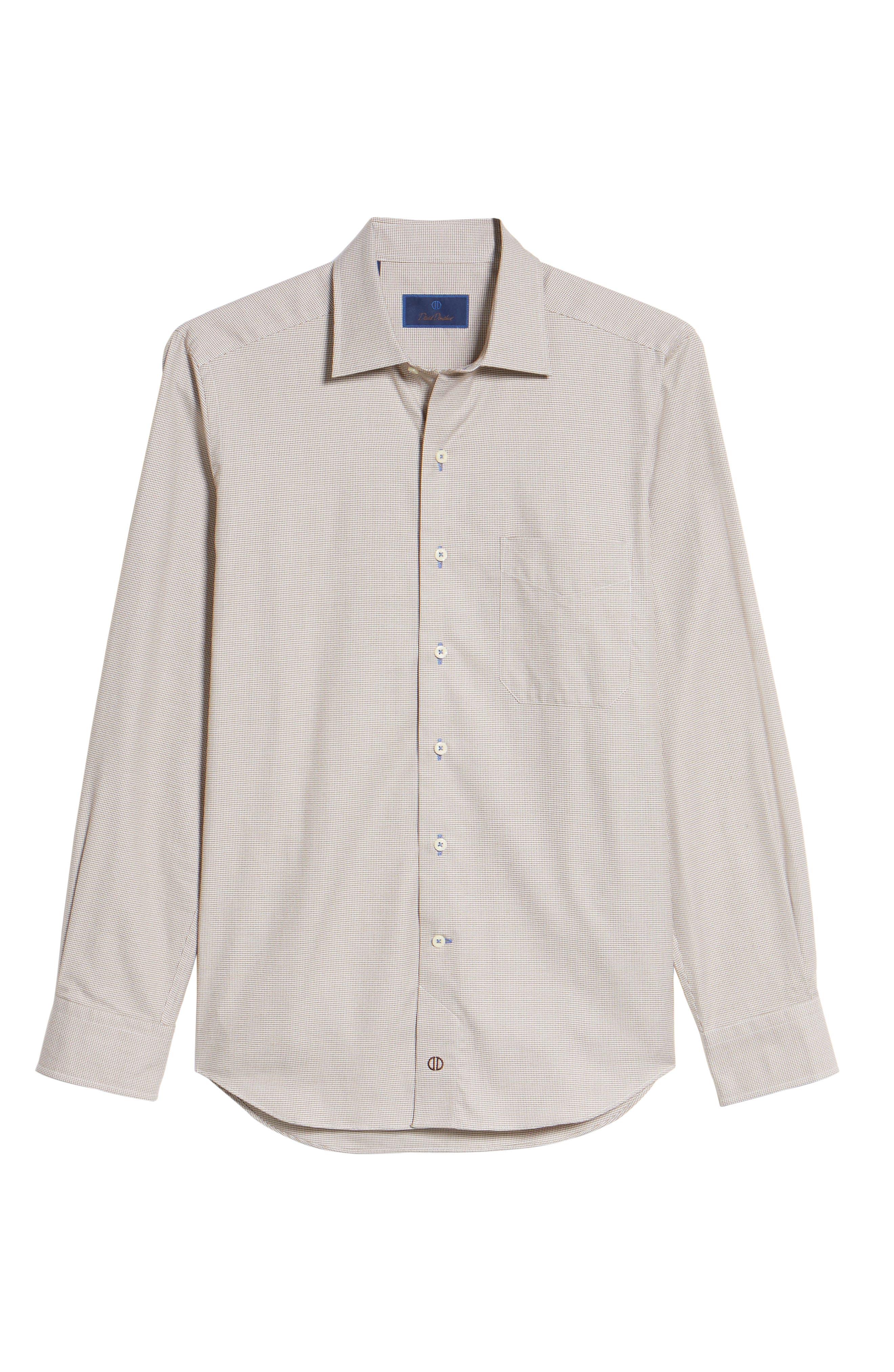Plaid Regular Fit Sport Shirt,                             Alternate thumbnail 6, color,                             212