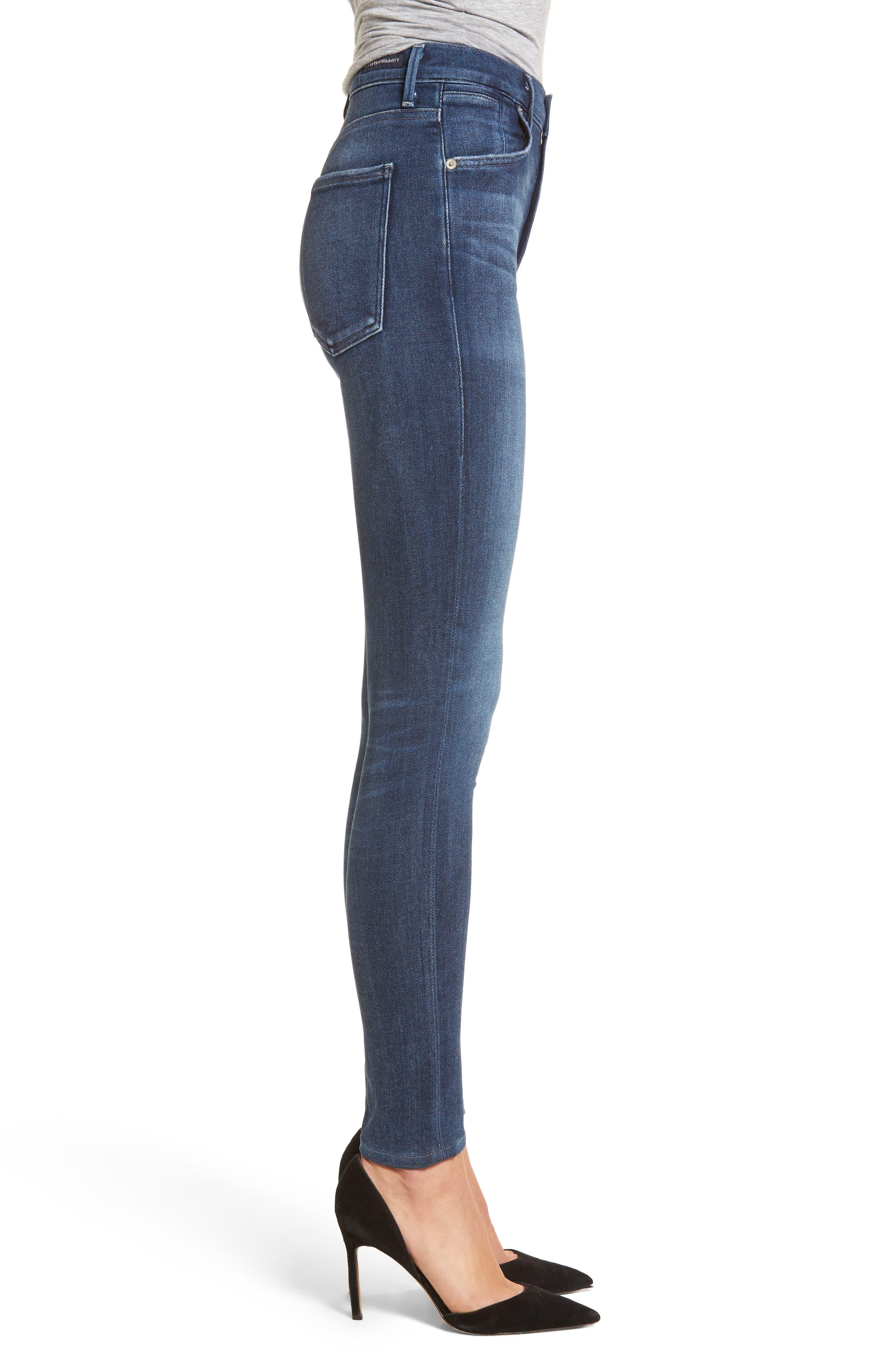 Emma Power Legging Jeans,                             Alternate thumbnail 3, color,                             425