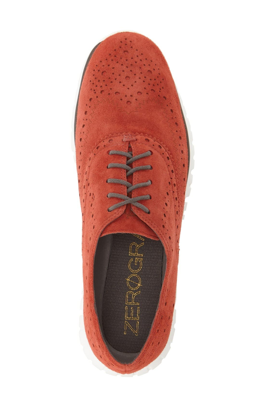 'ZeroGrand' Perforated Wingtip,                             Alternate thumbnail 90, color,