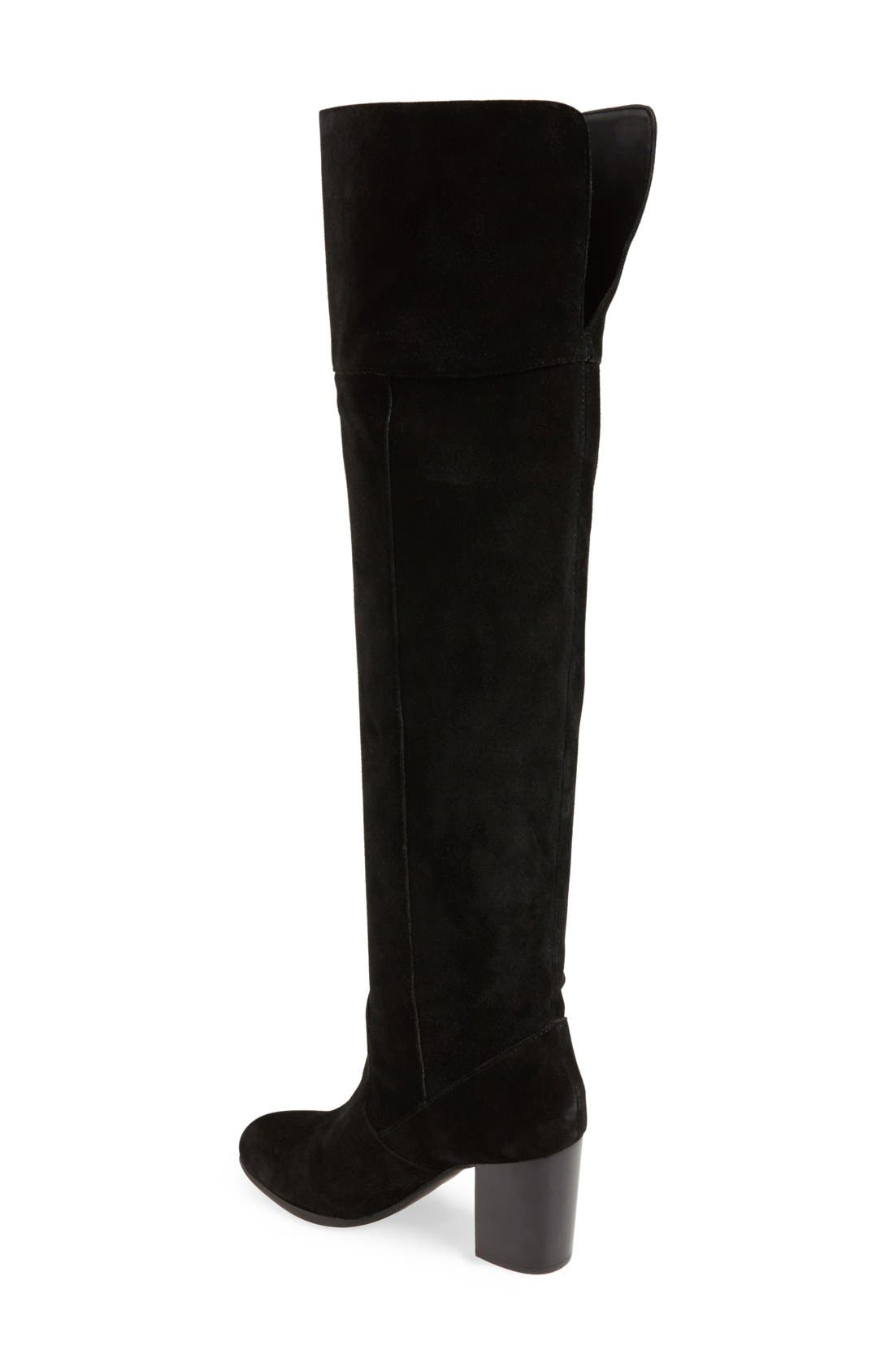 JessicaSimpson'Ebyy' Over the KneeBoot,                             Alternate thumbnail 4, color,                             001