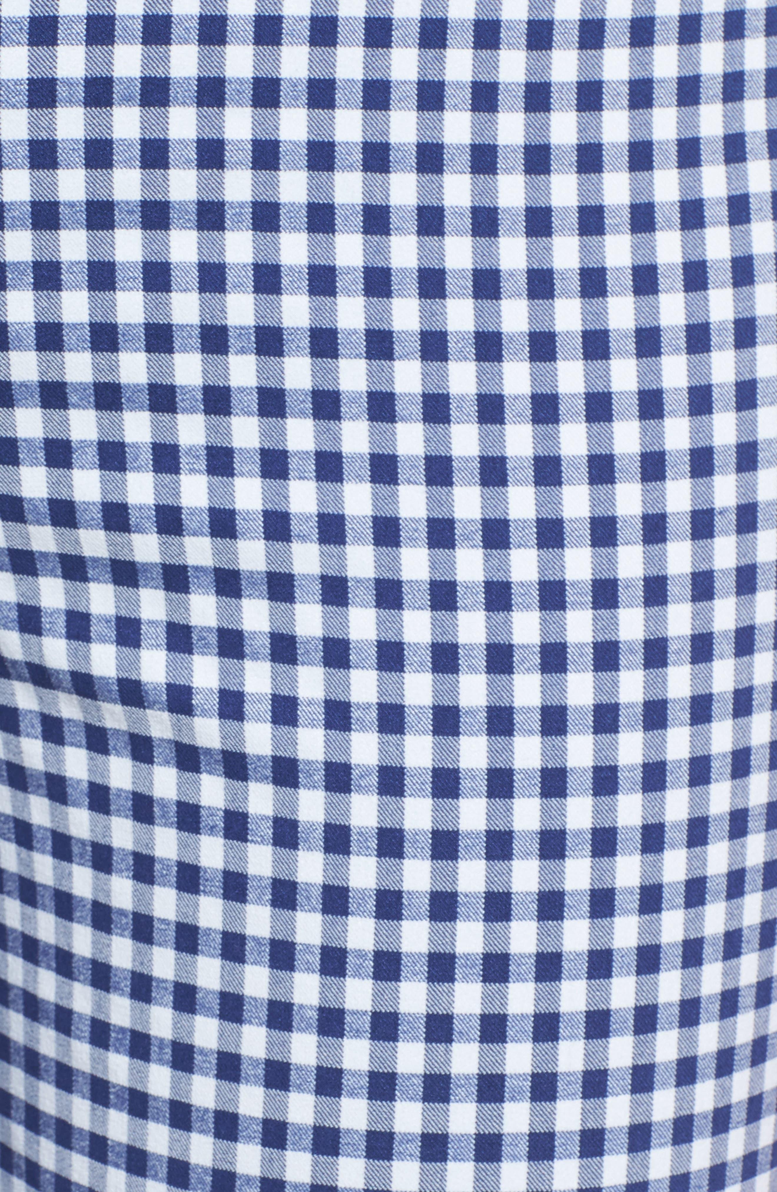 Crop Stretch Cotton Pants,                             Alternate thumbnail 100, color,