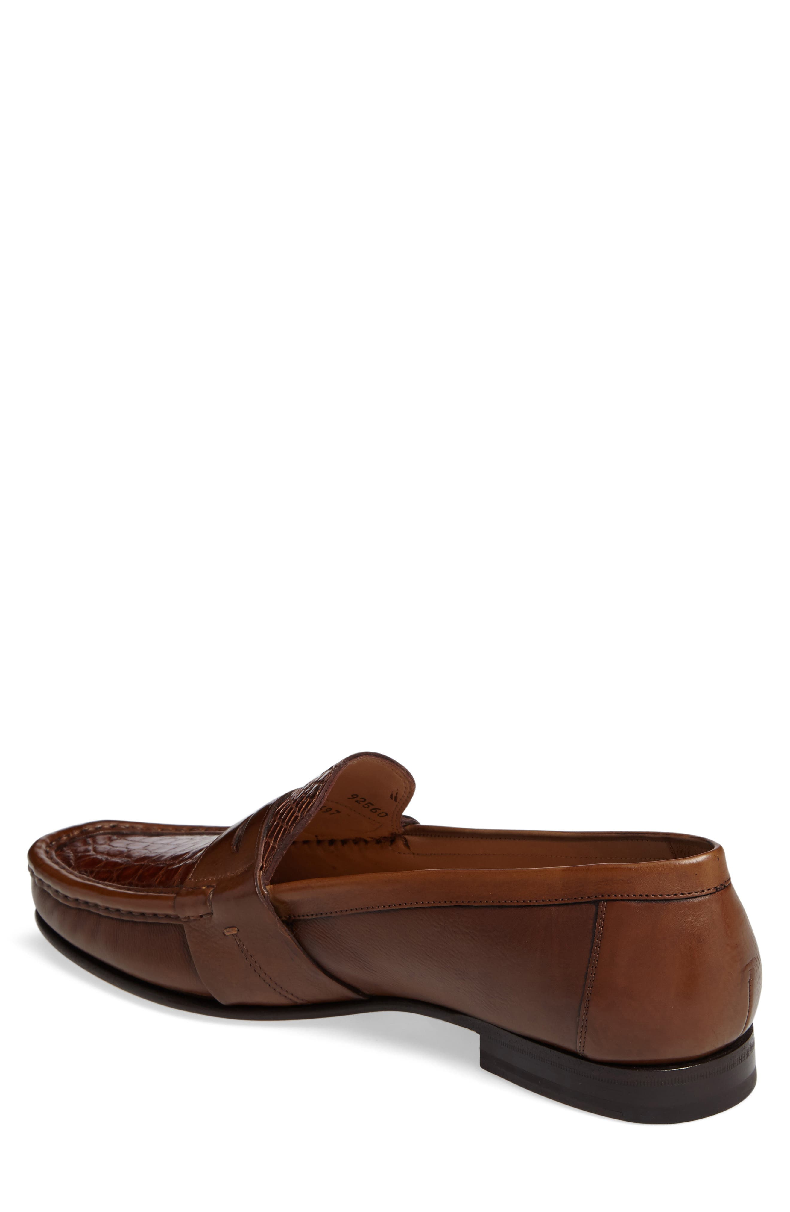 Marconi Penny Loafer,                             Alternate thumbnail 4, color,