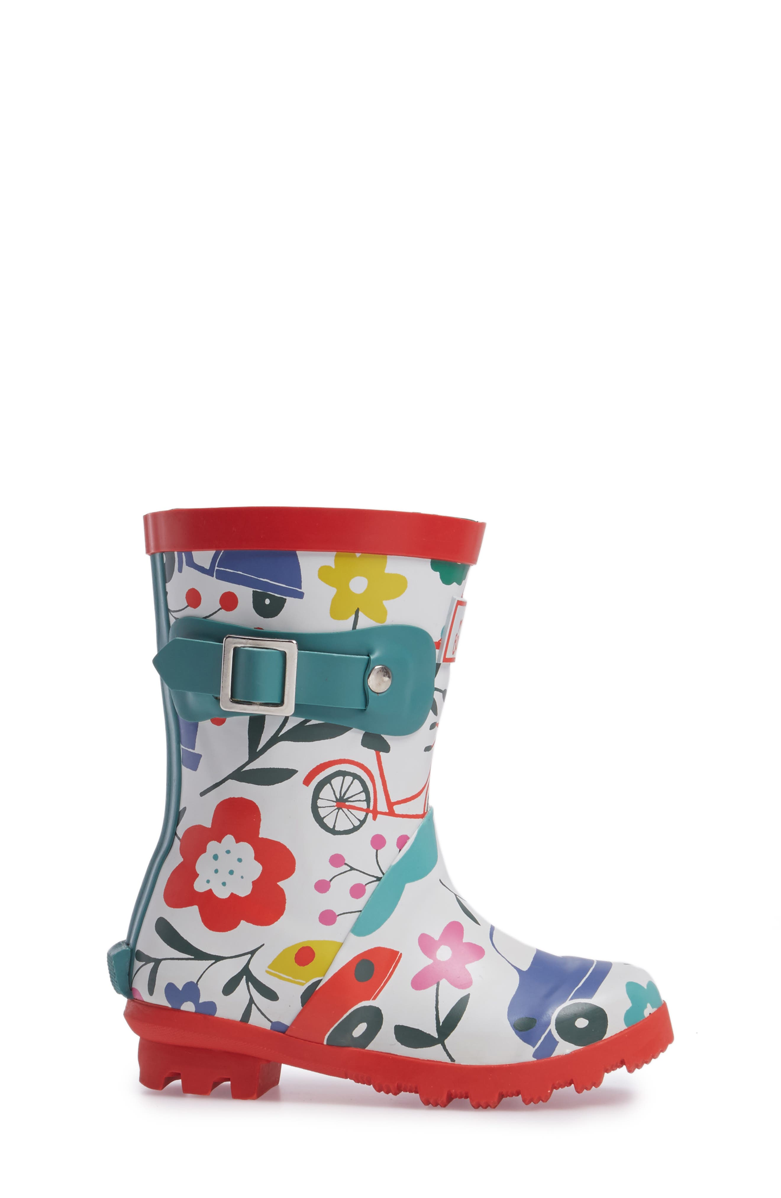 Printed Wellies,                             Alternate thumbnail 3, color,                             100