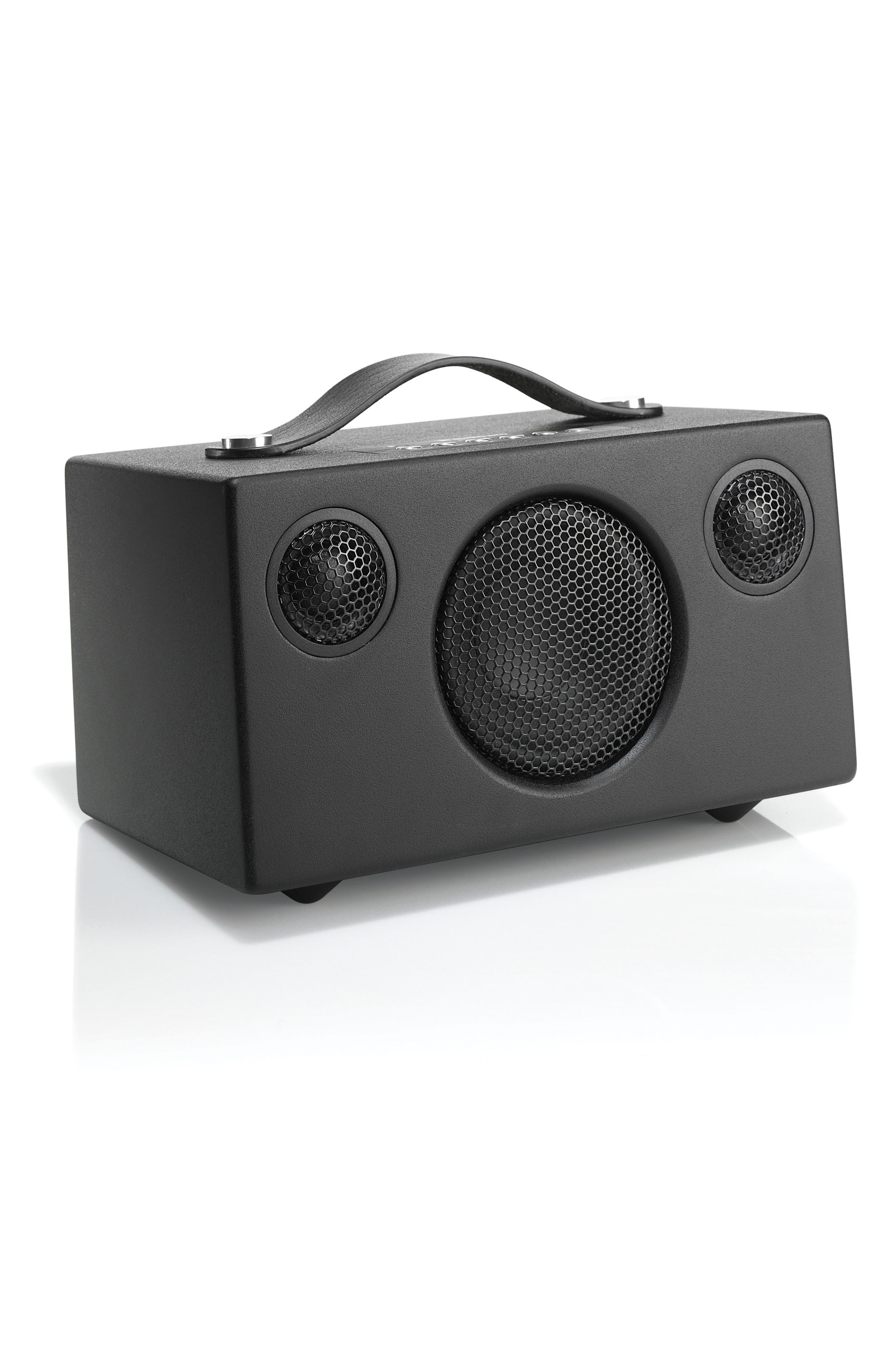 Addon T3 Portable Speaker,                             Alternate thumbnail 3, color,                             COAL BLACK