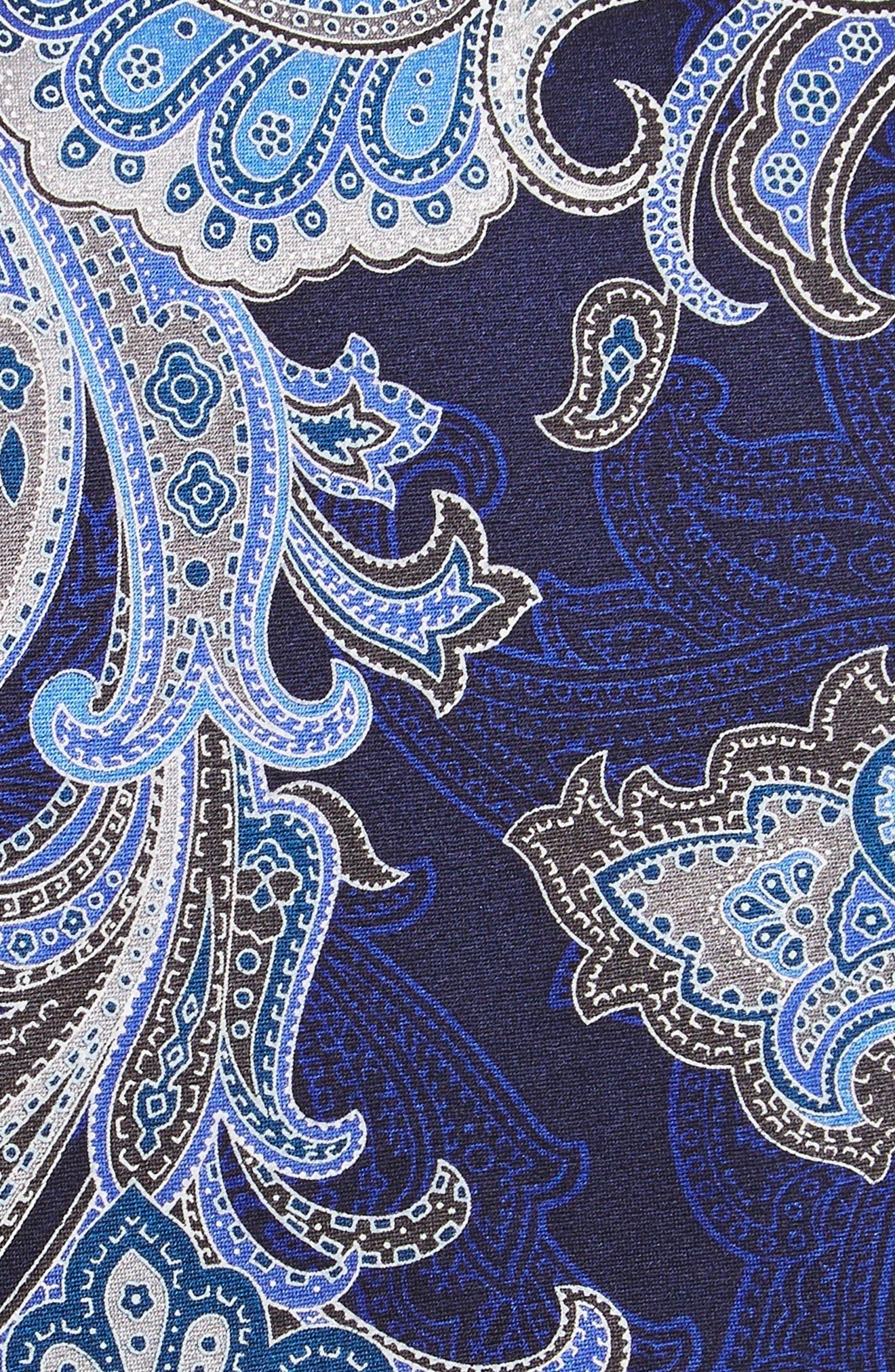 Penay Paisley Silk Tie,                             Alternate thumbnail 2, color,                             020