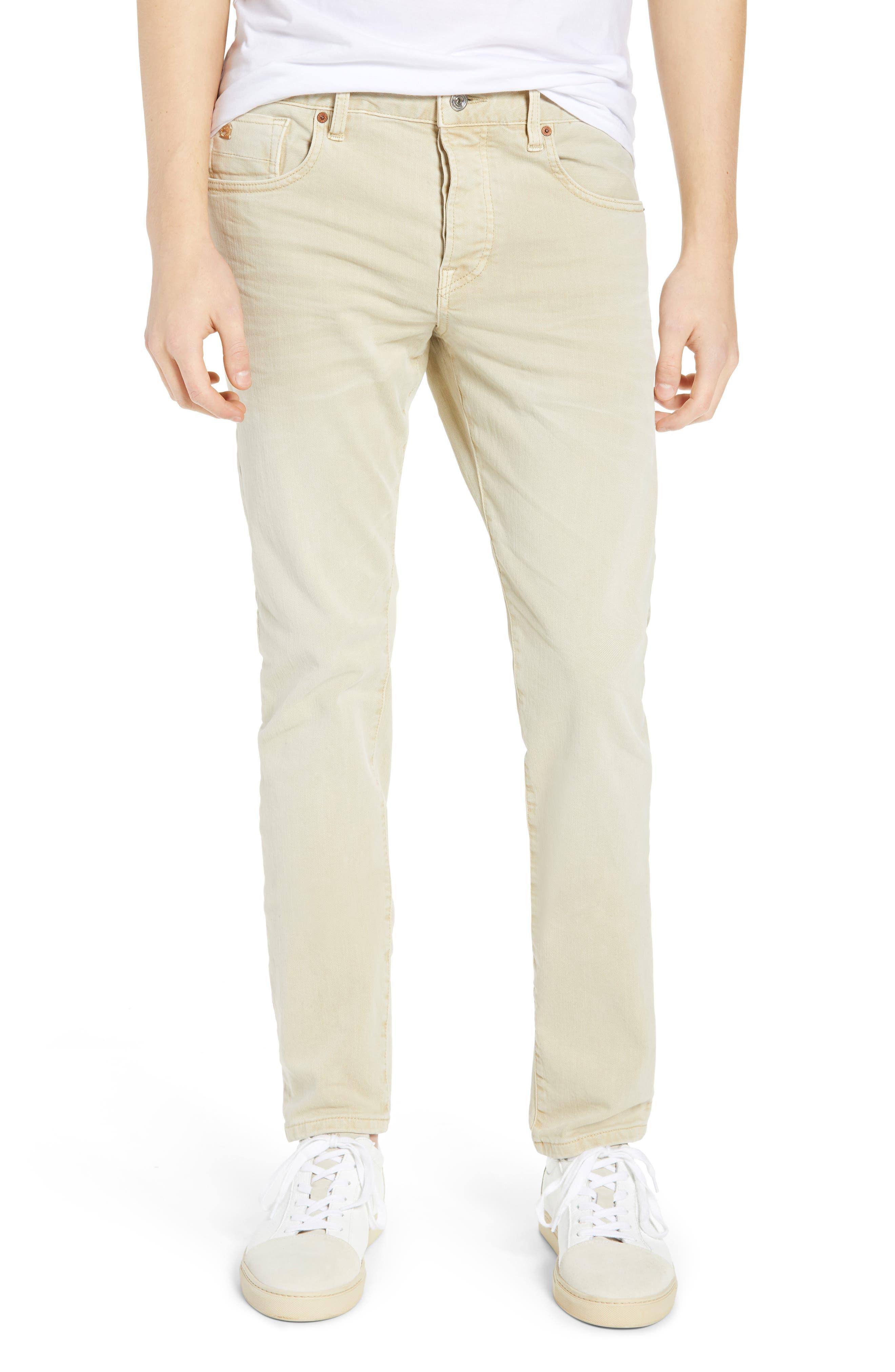 Ralston Slim Fit Pants, Main, color, SAND