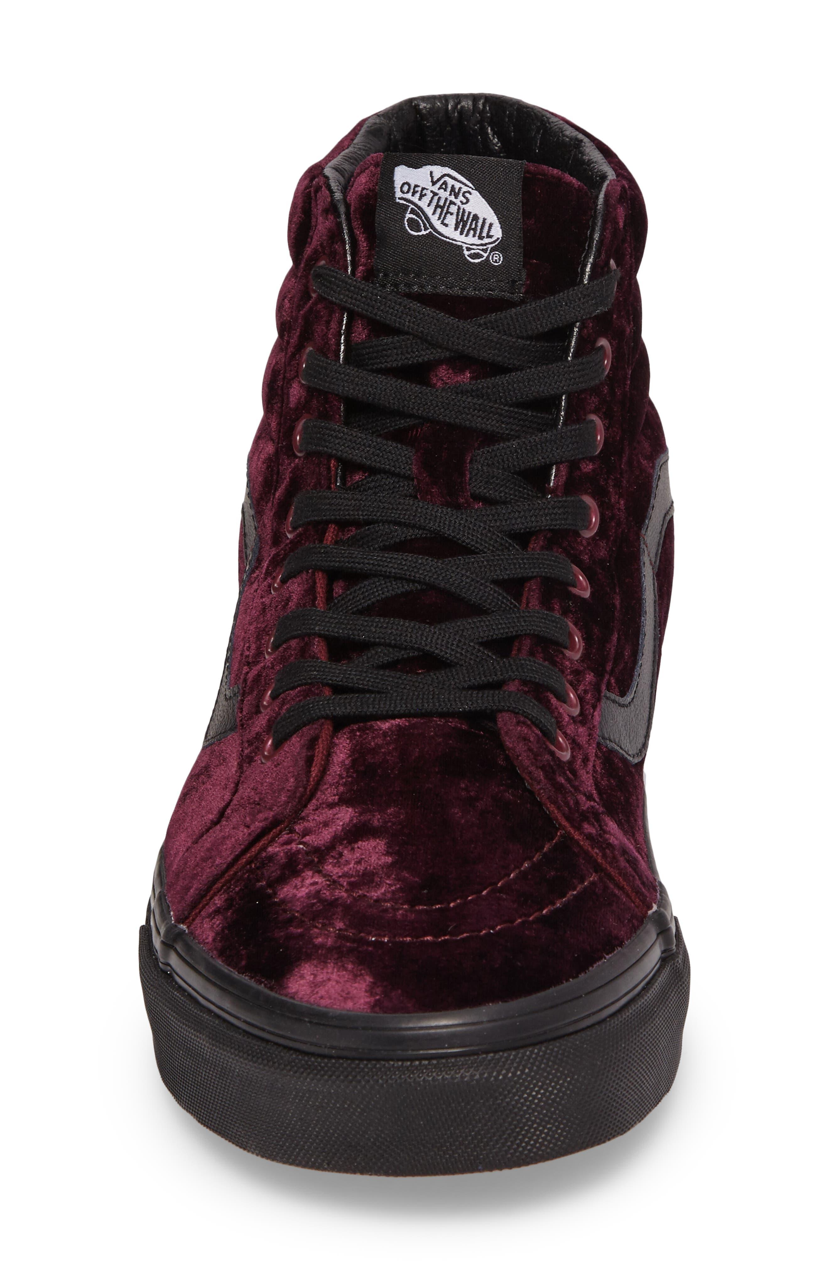 SK8-Hi Reissue High Top Sneaker,                             Alternate thumbnail 4, color,                             930