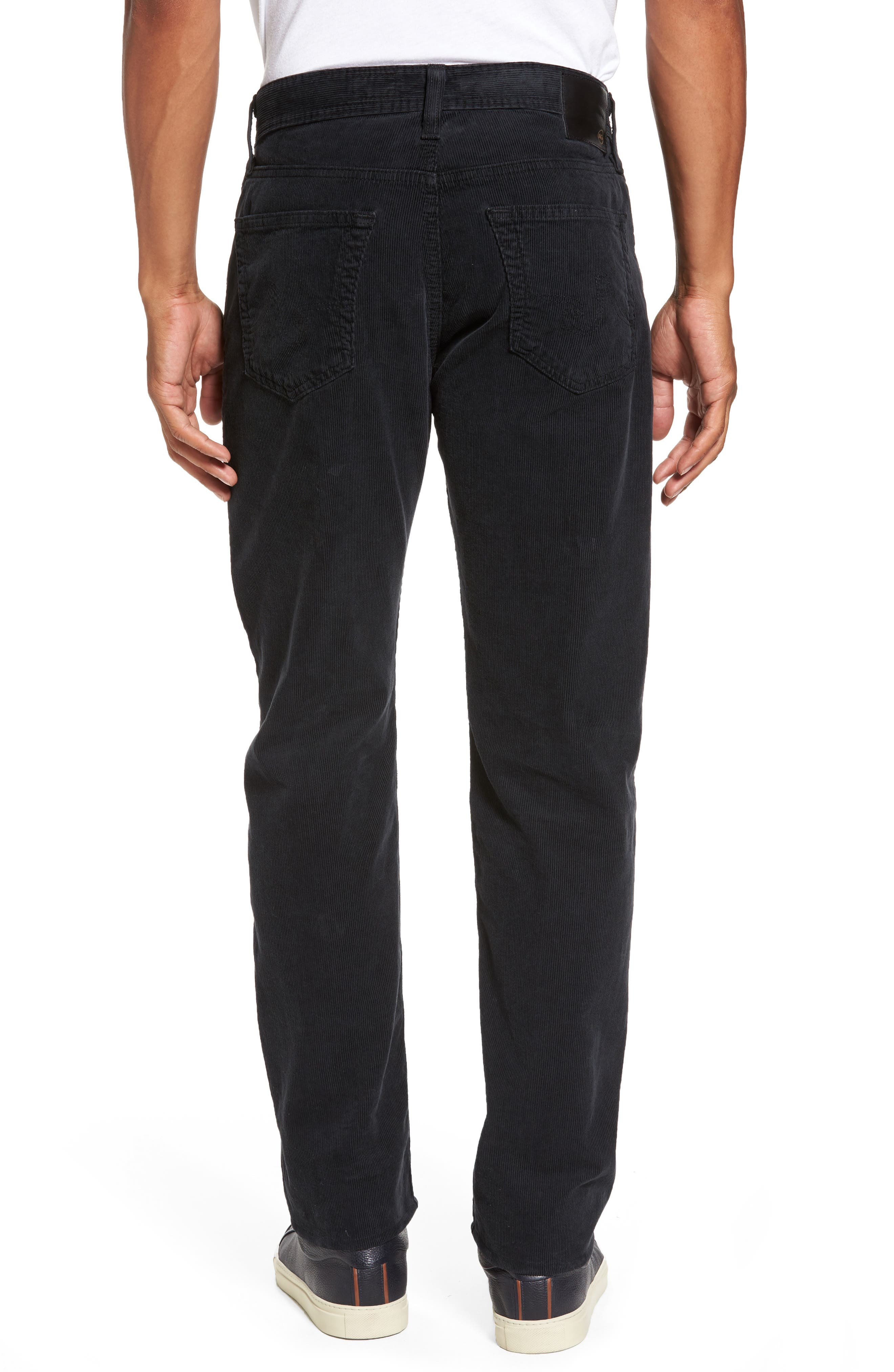 'Graduate' Tailored Straight Leg Corduroy Pants,                             Alternate thumbnail 2, color,                             017