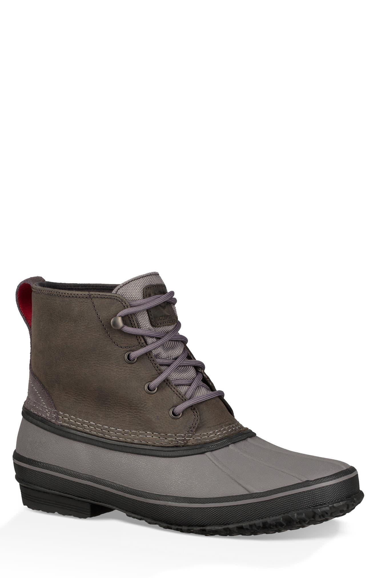Zetik Rain Boot,                         Main,                         color, DARK GREY