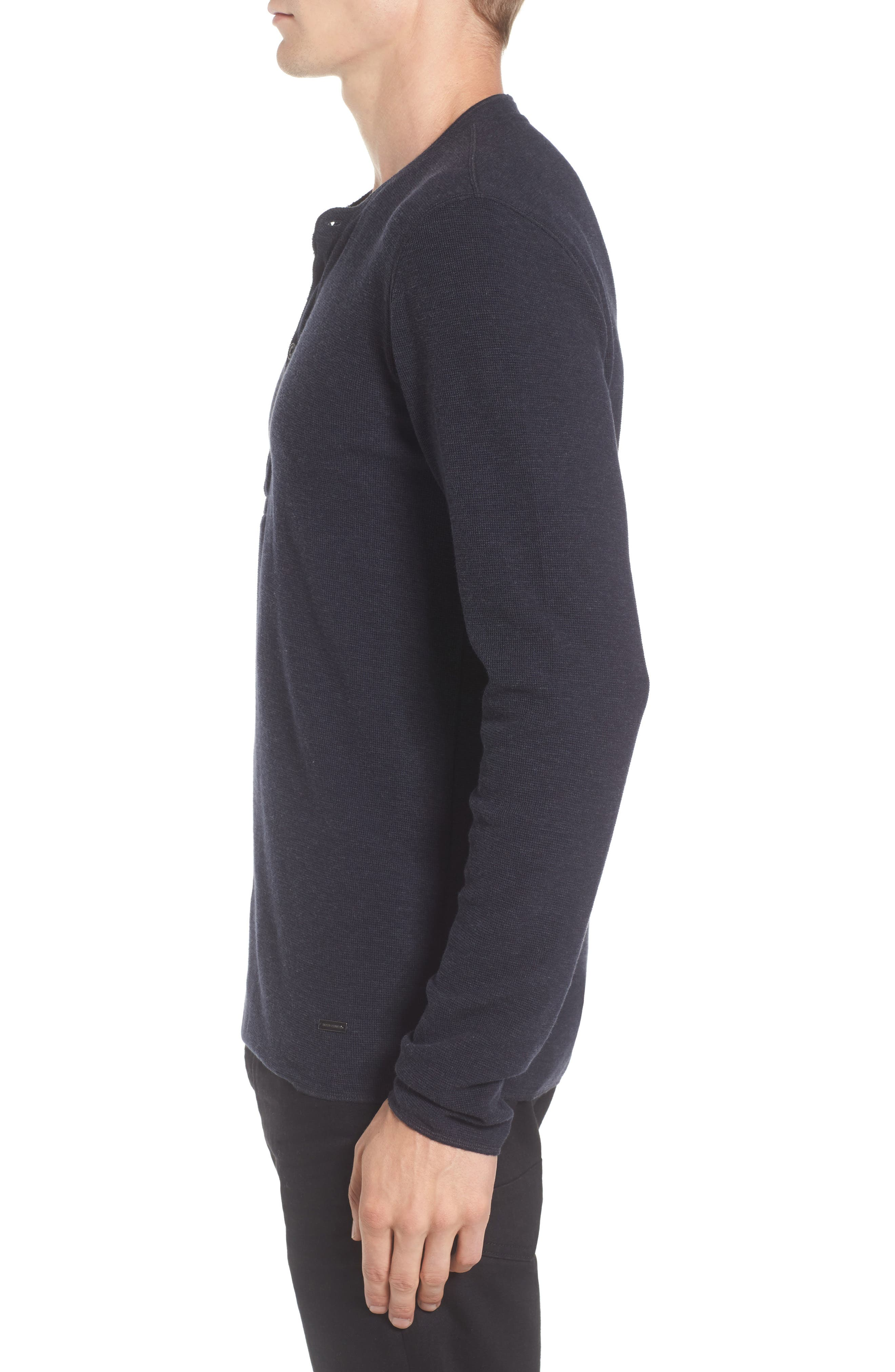 Topsider Thermal Henley,                             Alternate thumbnail 12, color,