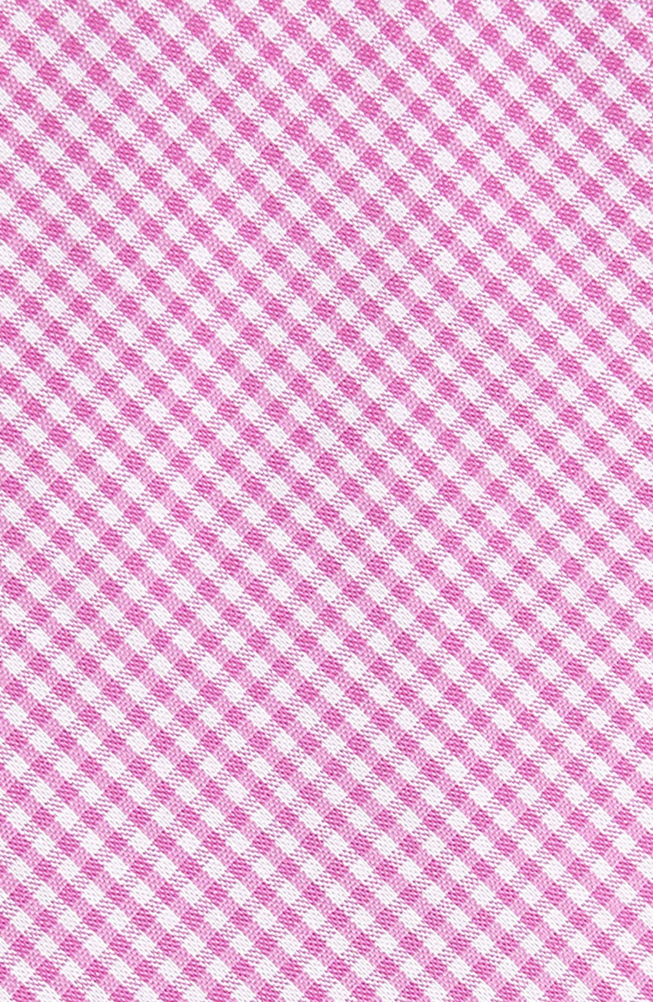 Sydney Check Cotton Skinny Tie,                             Alternate thumbnail 6, color,