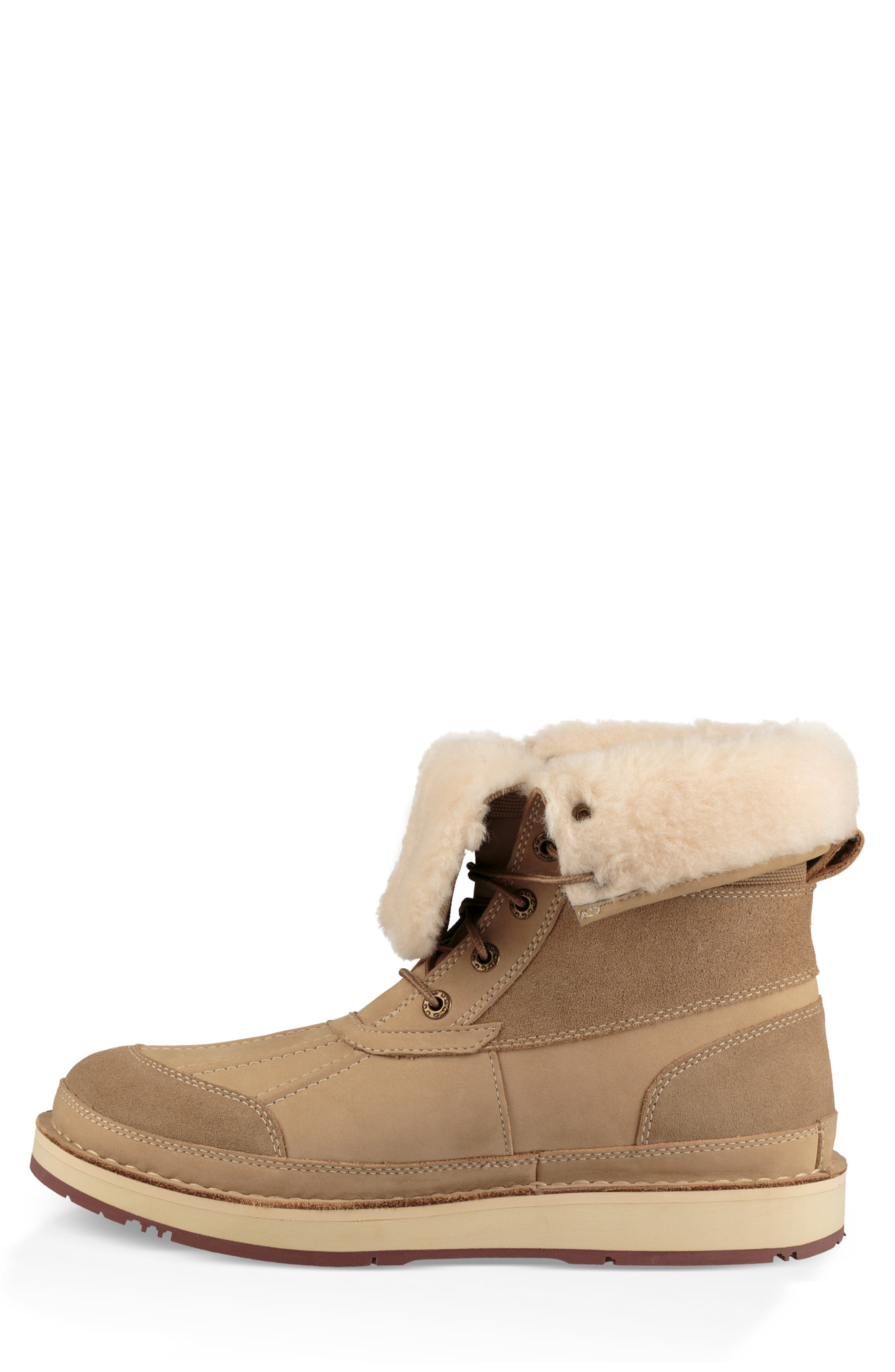 Avalanche Butte Waterproof Boot,                             Alternate thumbnail 8, color,                             DESERT TAN