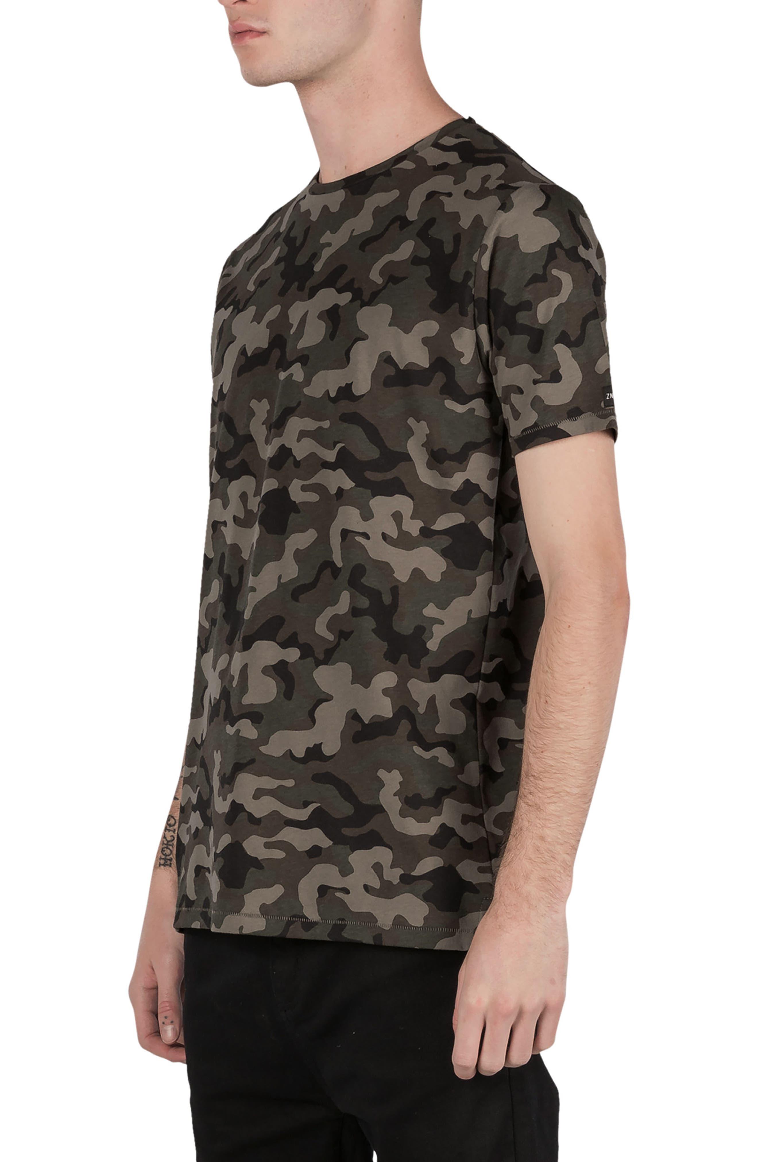 Flintlock Camo T-Shirt,                             Alternate thumbnail 5, color,                             320