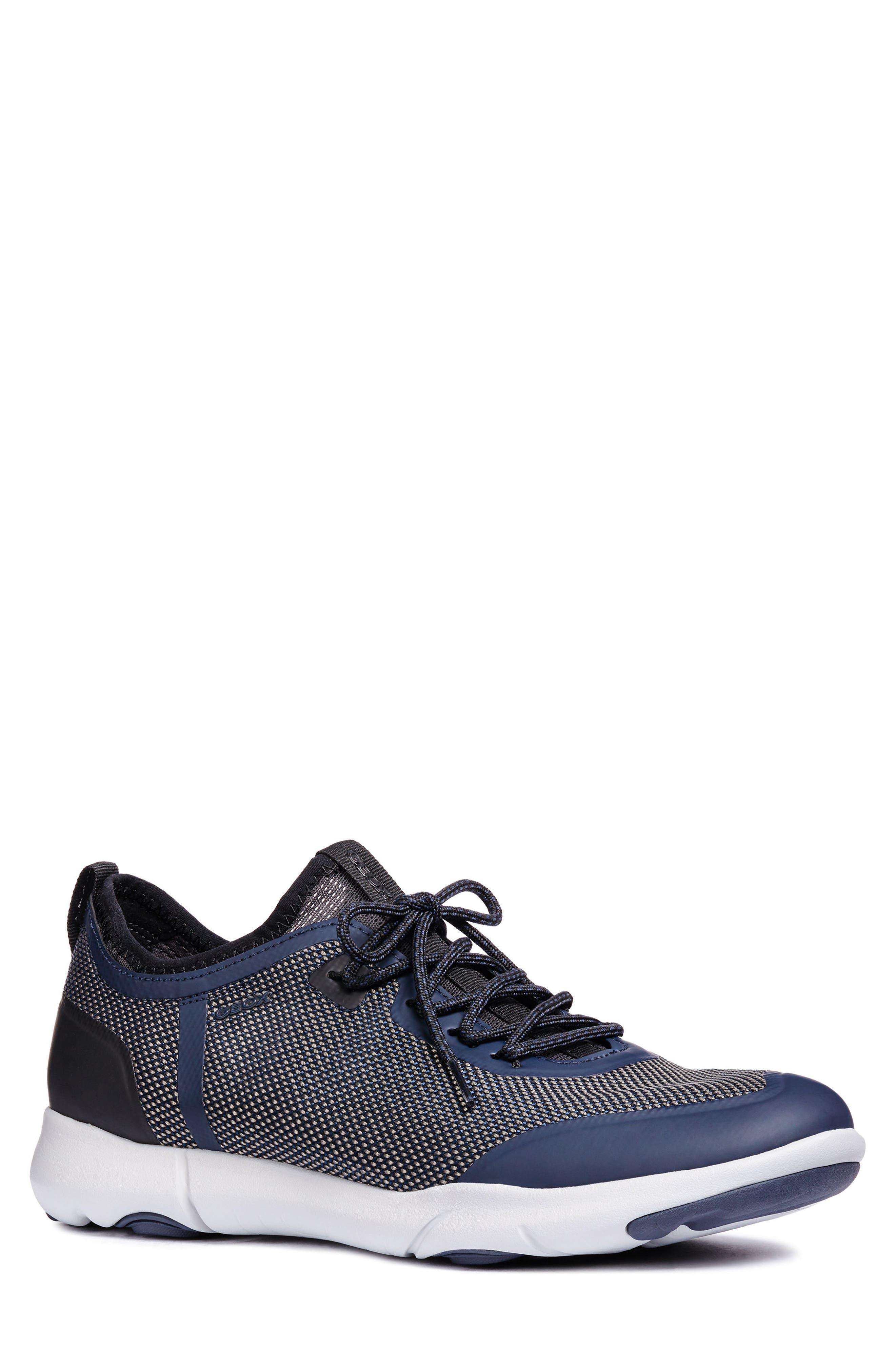 Geox Nebula X 3 Low Top Sneaker, Blue