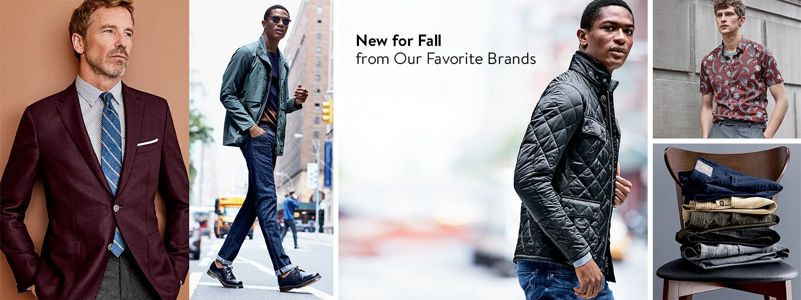 New clothing for fall from our favorite brands.