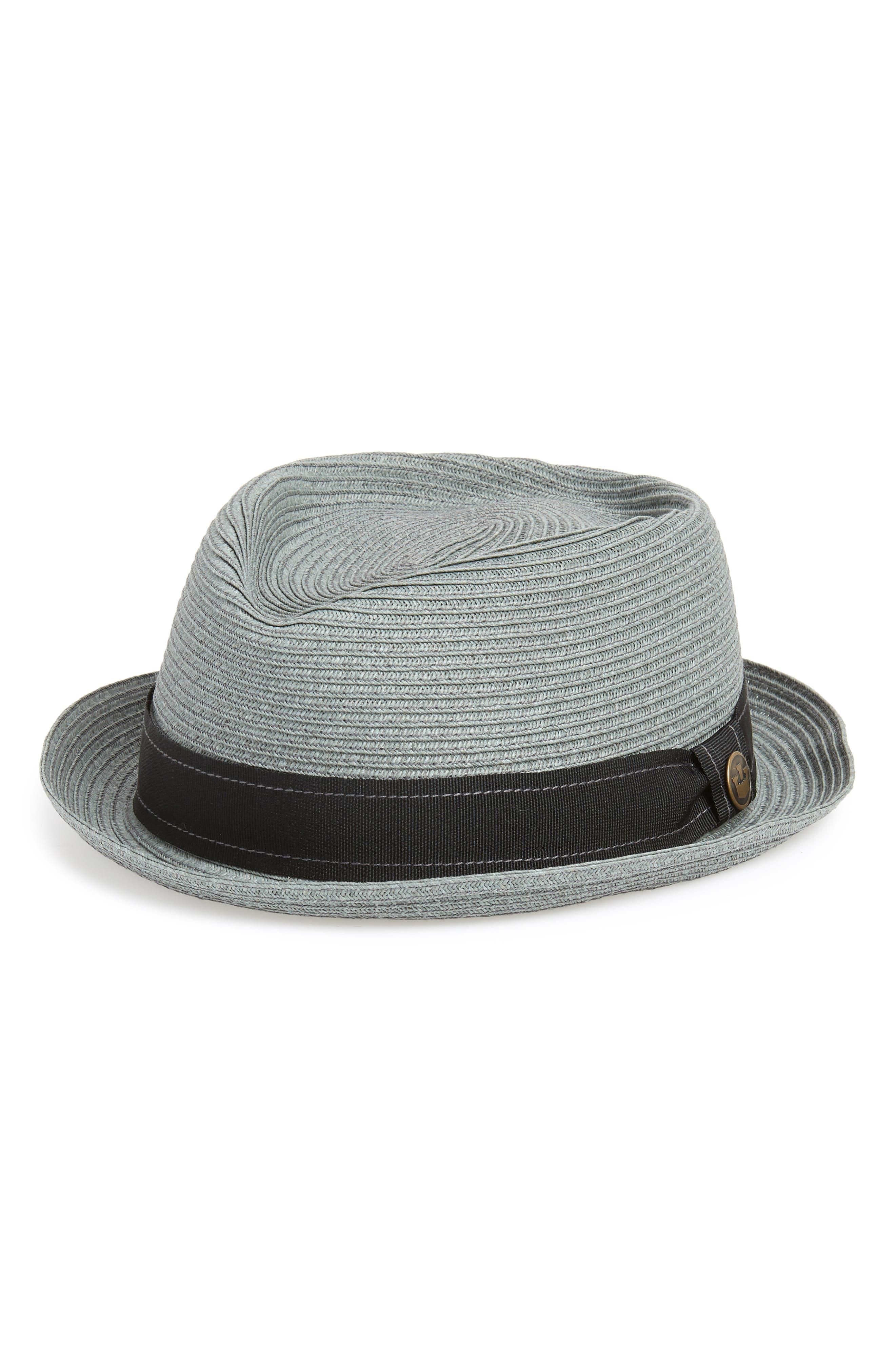 Big Joe Porkpie Hat,                             Main thumbnail 1, color,                             SAGE