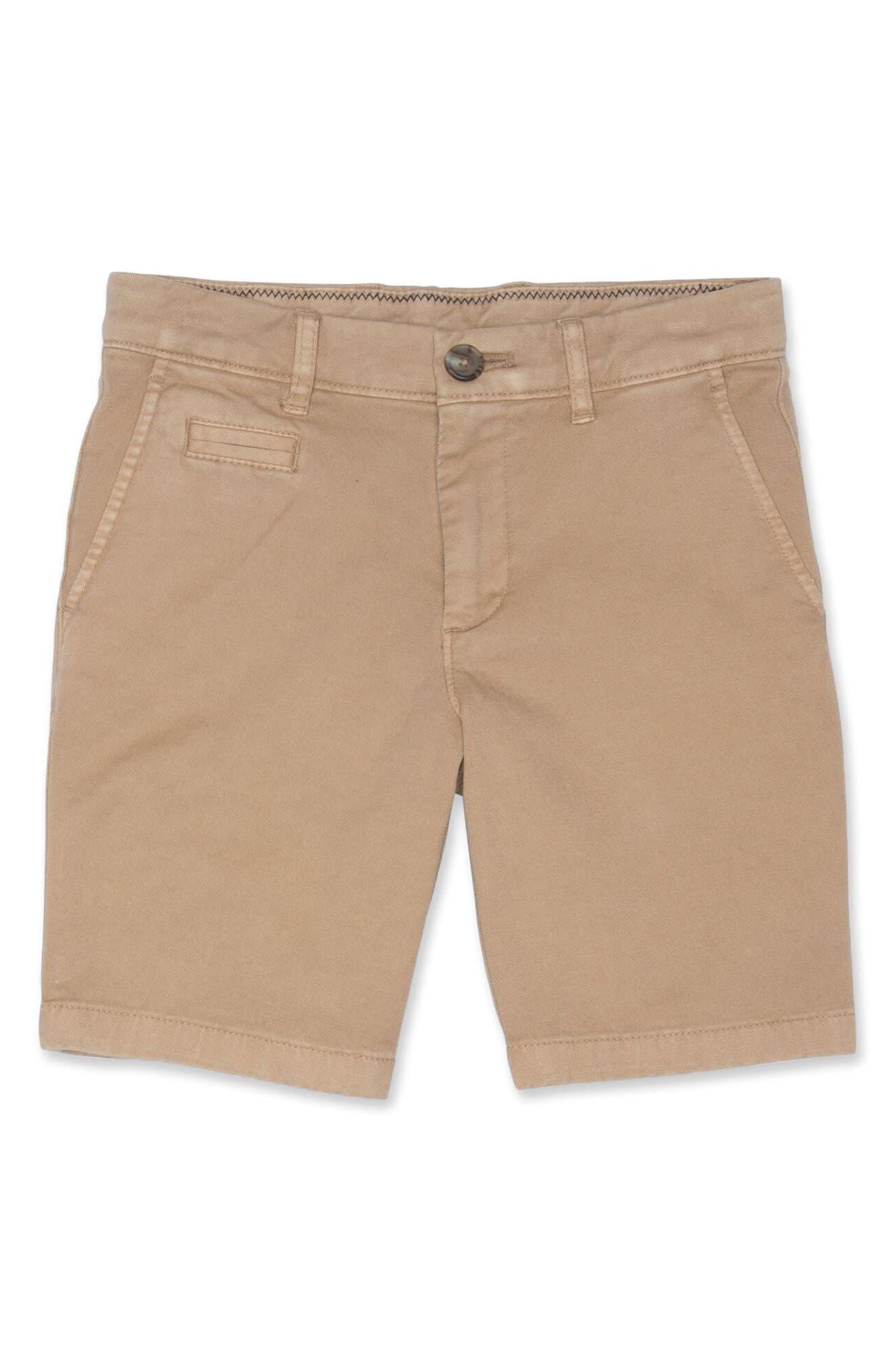 Boys JohnnieO Neal Twill Shorts Size 16  Blue