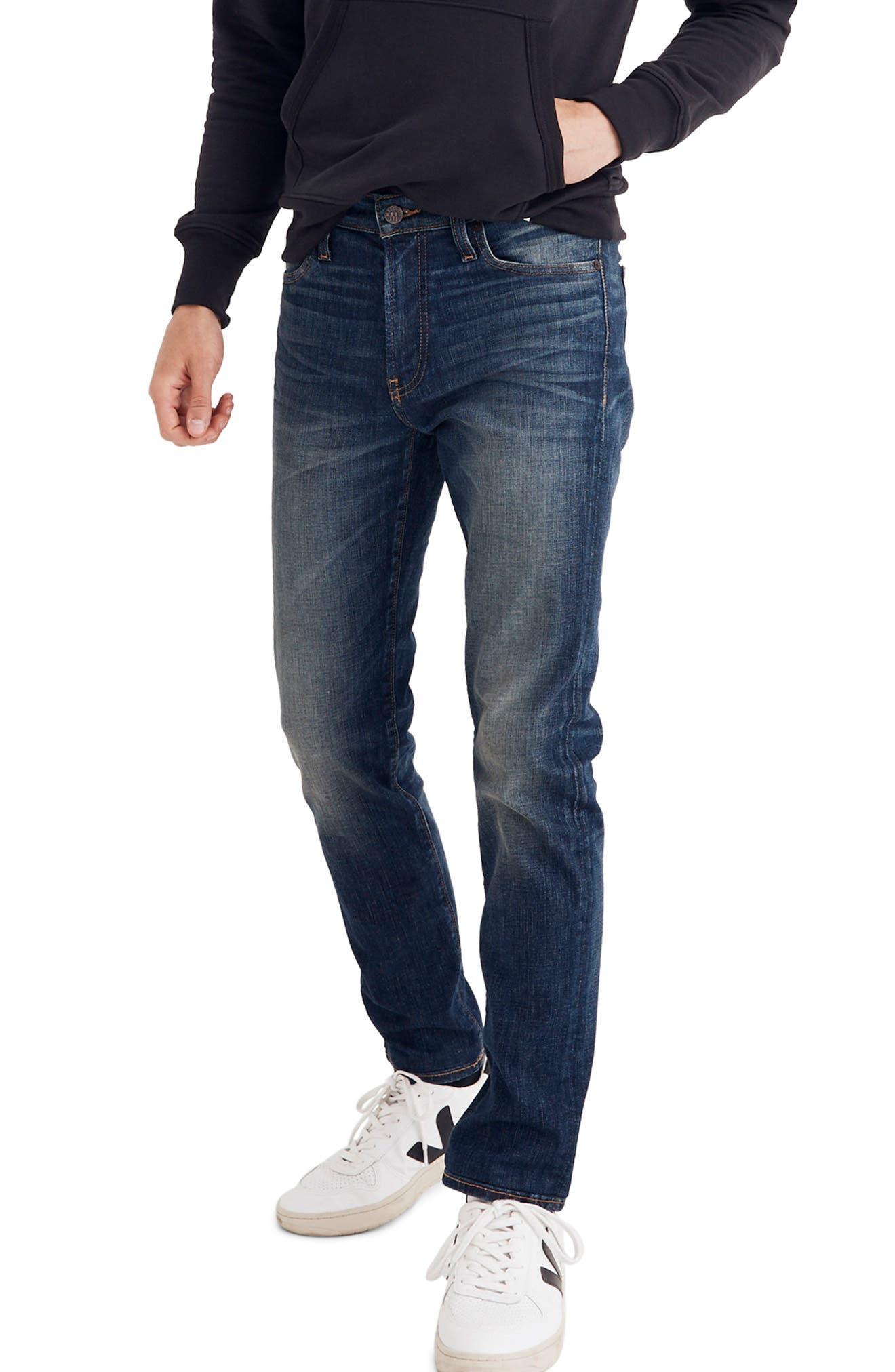 Slim Fit Jeans,                         Main,                         color, DARK TINTED