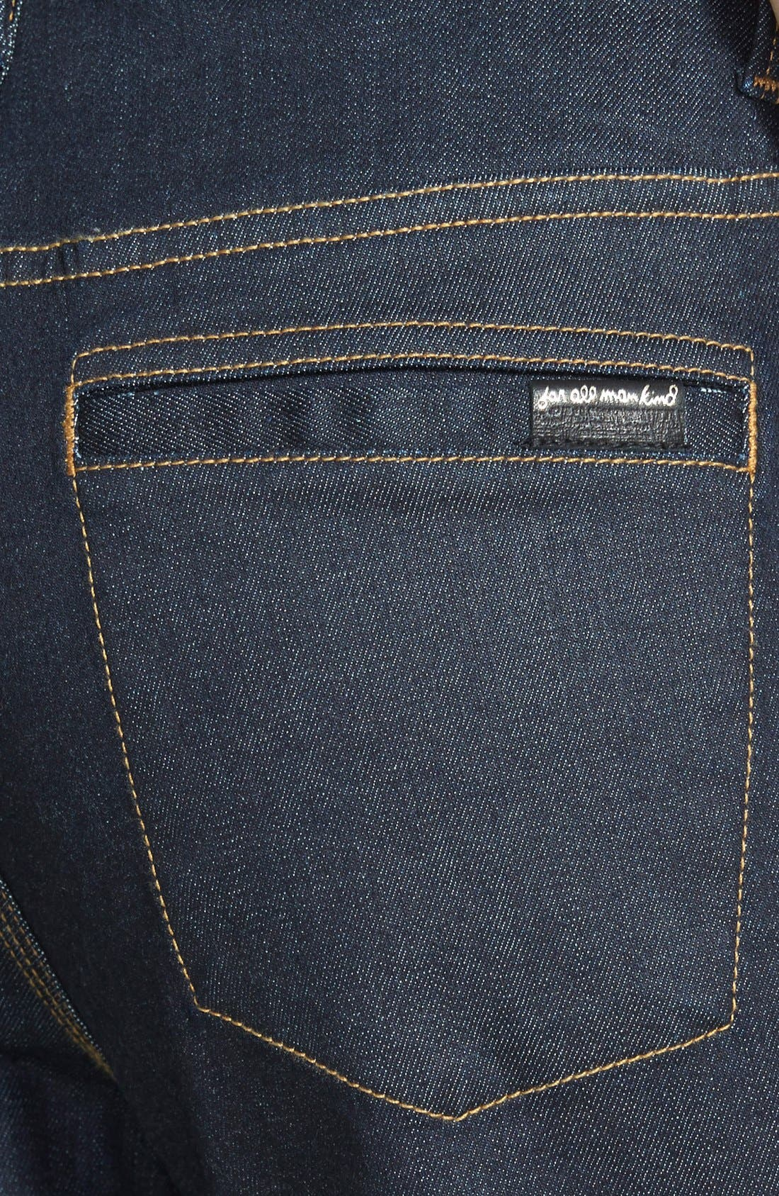 High Rise Flare Jeans,                             Alternate thumbnail 3, color,                             406