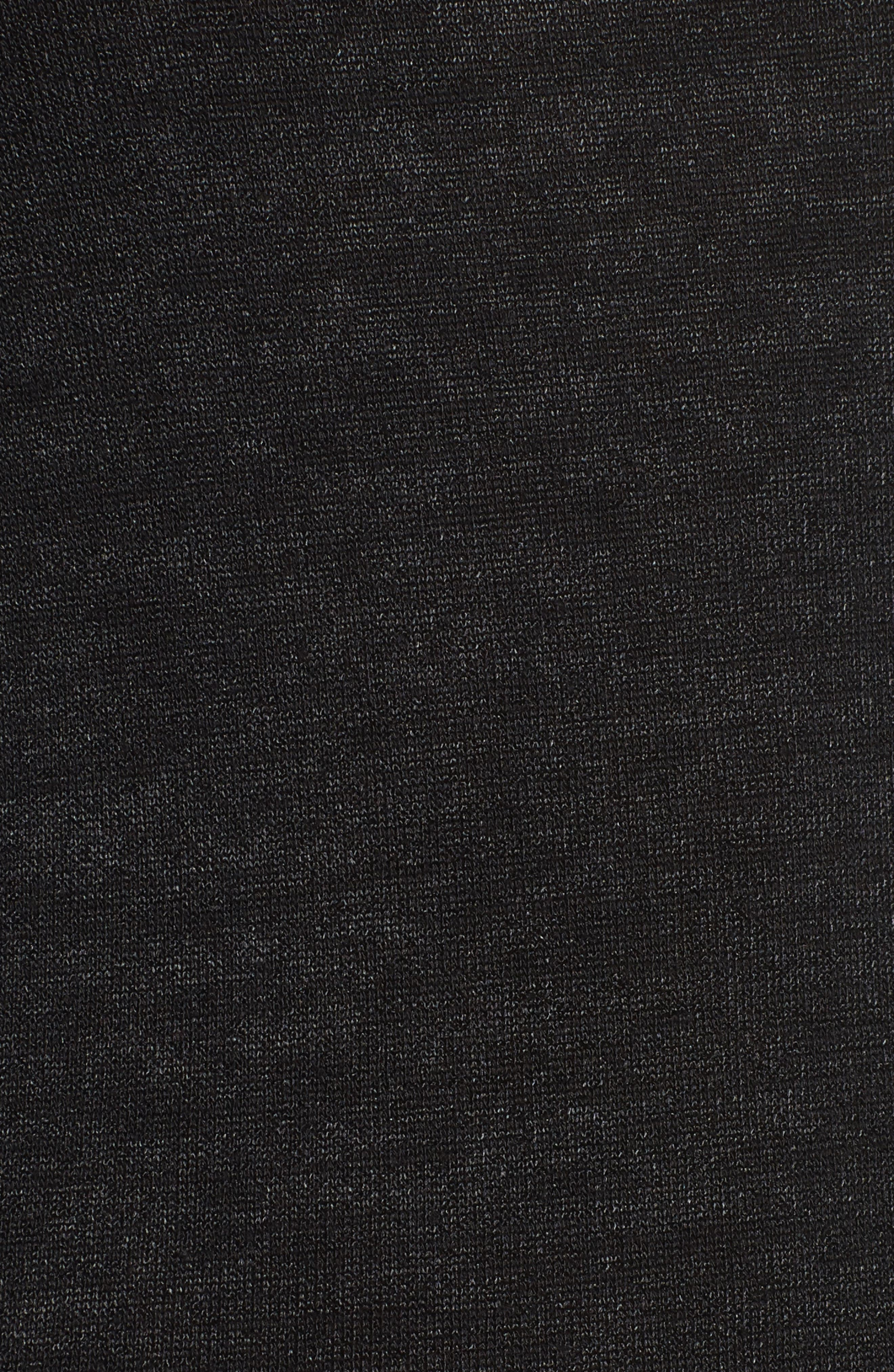 Slim Bell Sleeve Tee,                             Alternate thumbnail 5, color,                             001