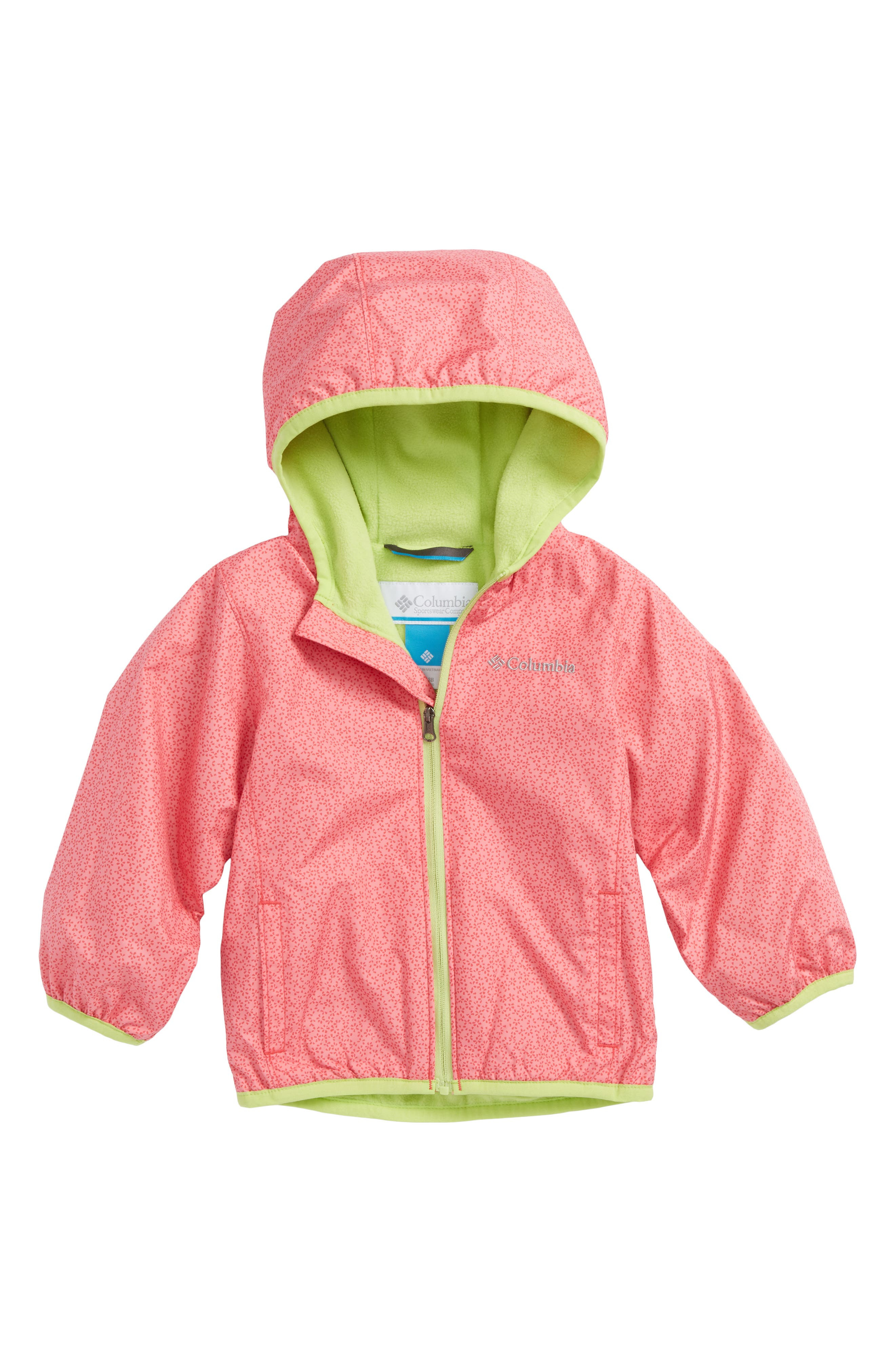 Mini Pixel Grabber<sup>™</sup> II Water Resistant Hooded Jacket,                         Main,                         color, 657