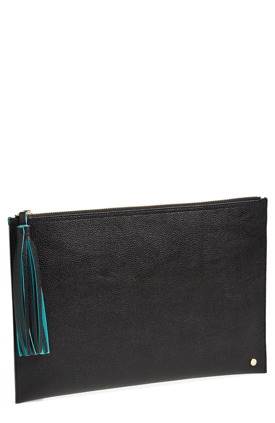 DEUX LUX 'Elle' Zip Top Pouch, Main, color, 001