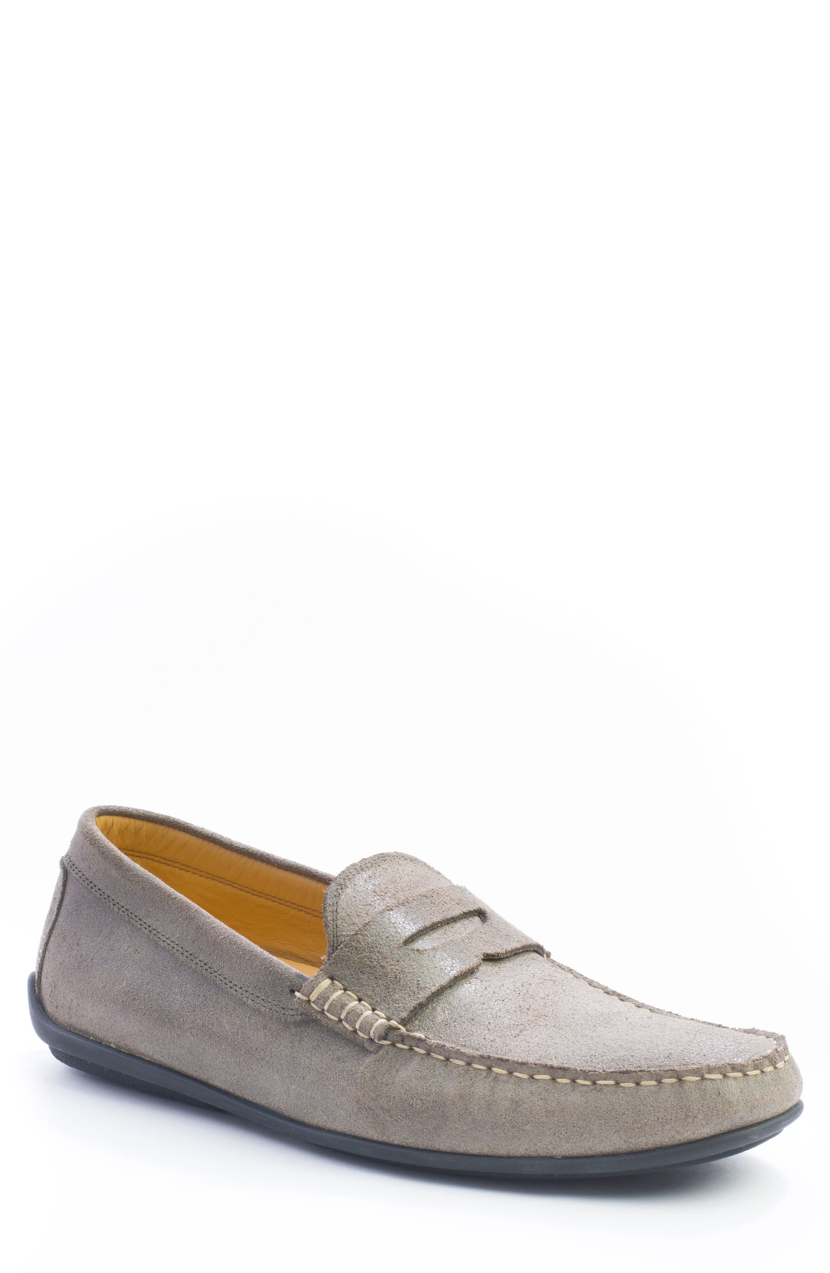 Barretts Penny Loafer,                             Main thumbnail 1, color,                             GREY