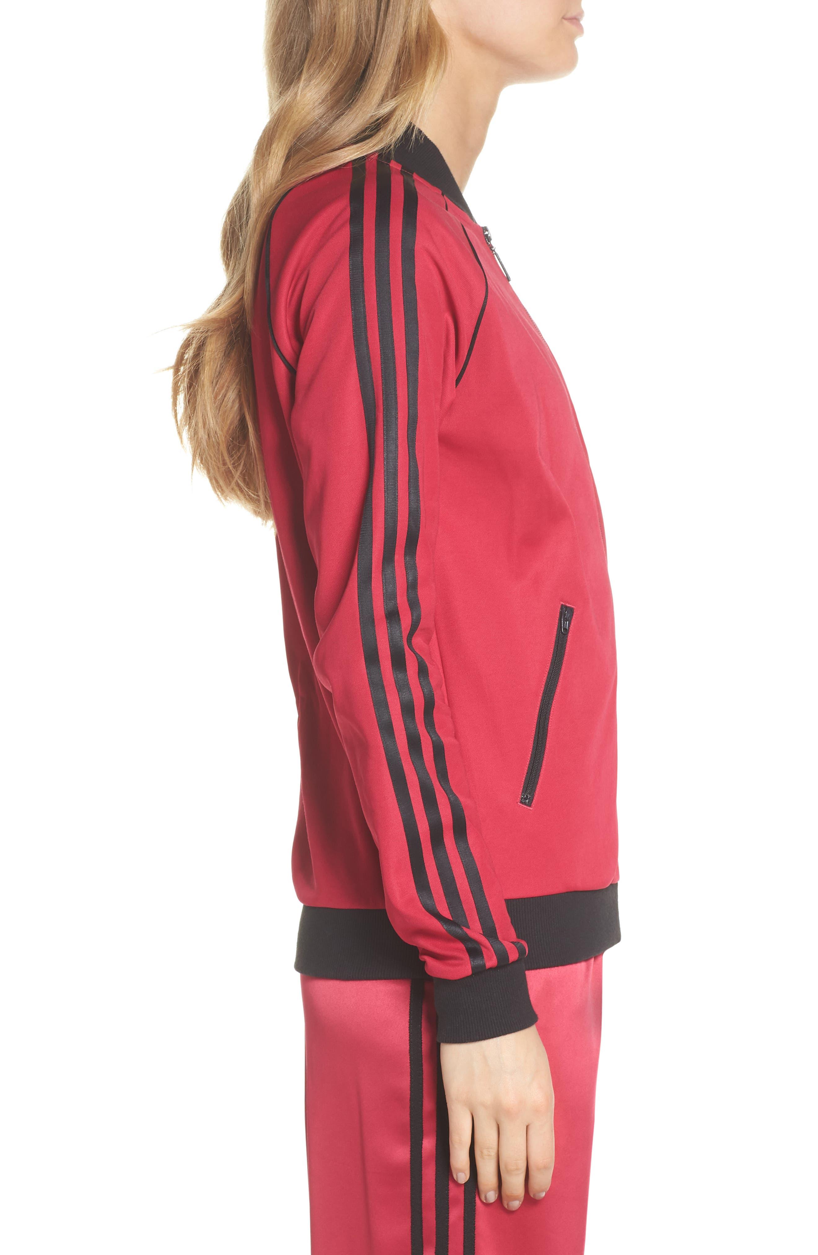 adidas Track Jacket,                             Alternate thumbnail 3, color,                             650