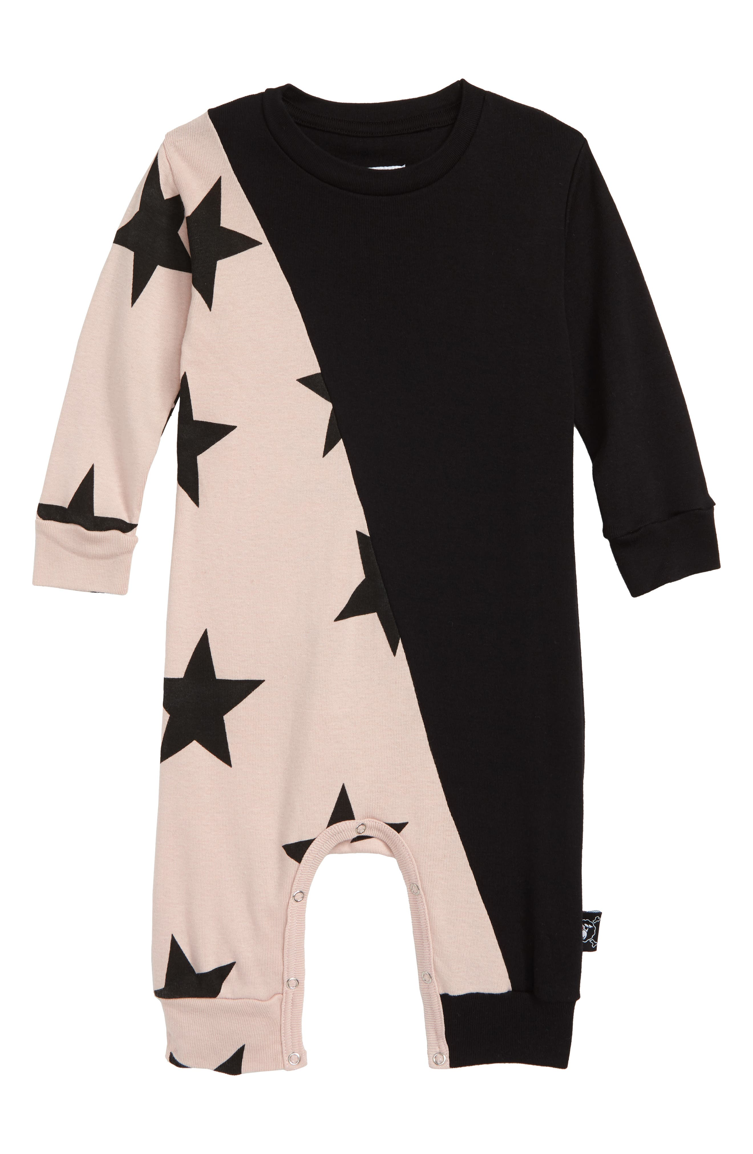 1/2 and 1/2 Star Romper,                         Main,                         color, 650