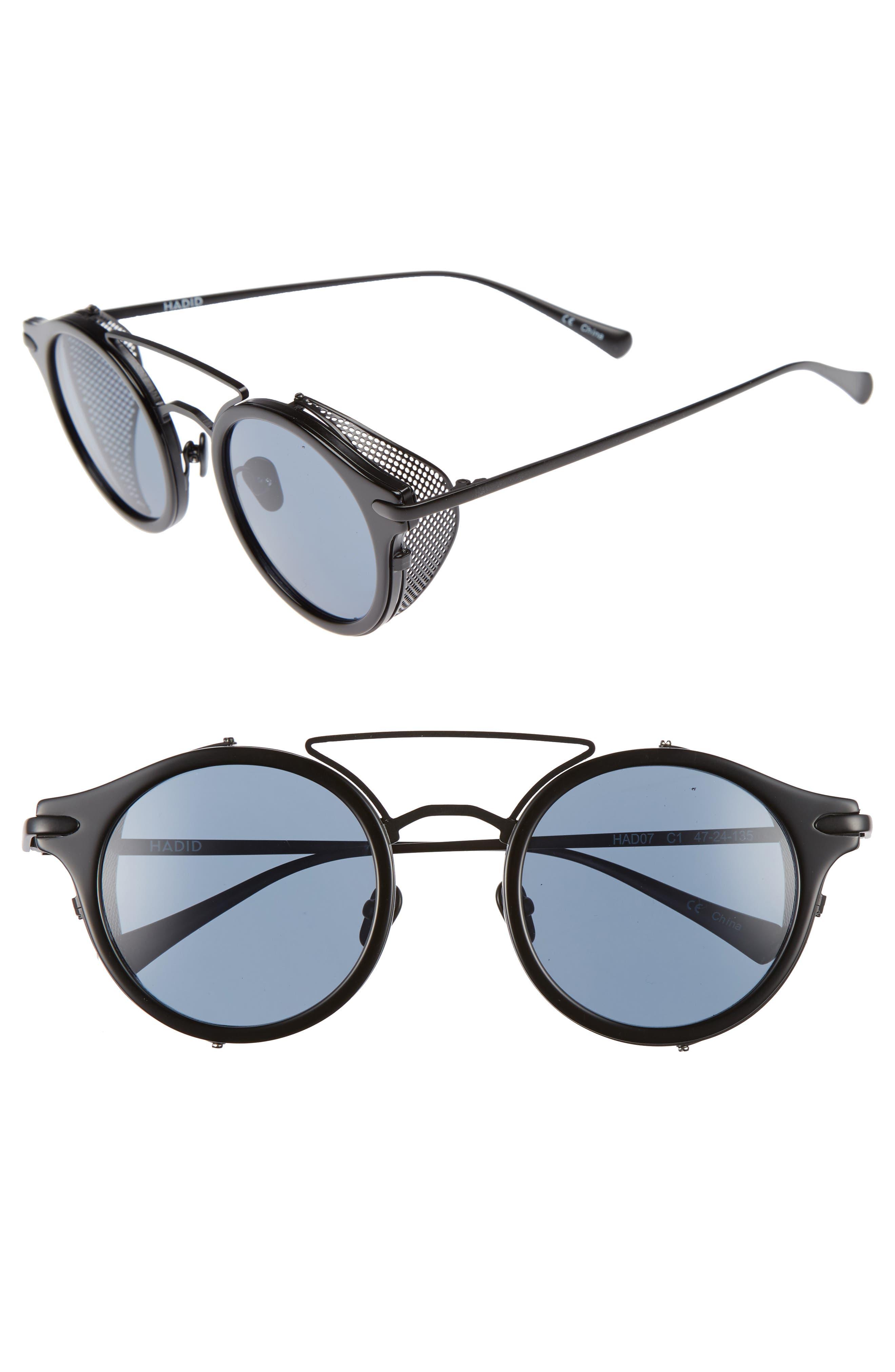 Mile High 47mm Sunglasses,                             Main thumbnail 1, color,                             001