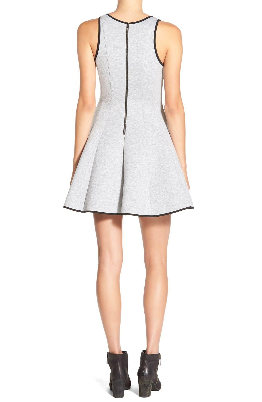 ModisteDresses Knit Fit & Flare Dress,                             Alternate thumbnail 4, color,                             020