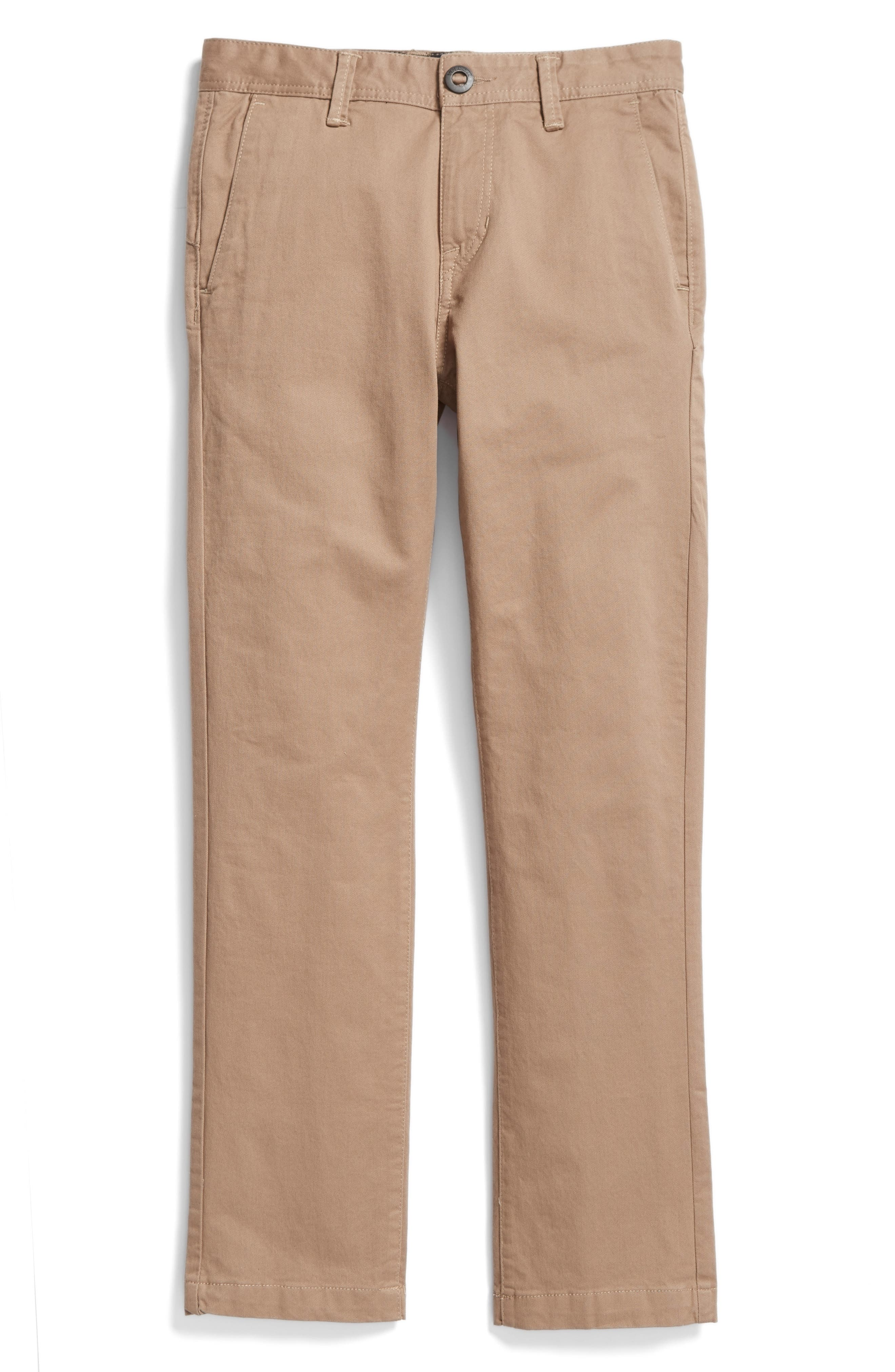 Slim Fit Stretch Chinos,                             Main thumbnail 1, color,                             BEIGE