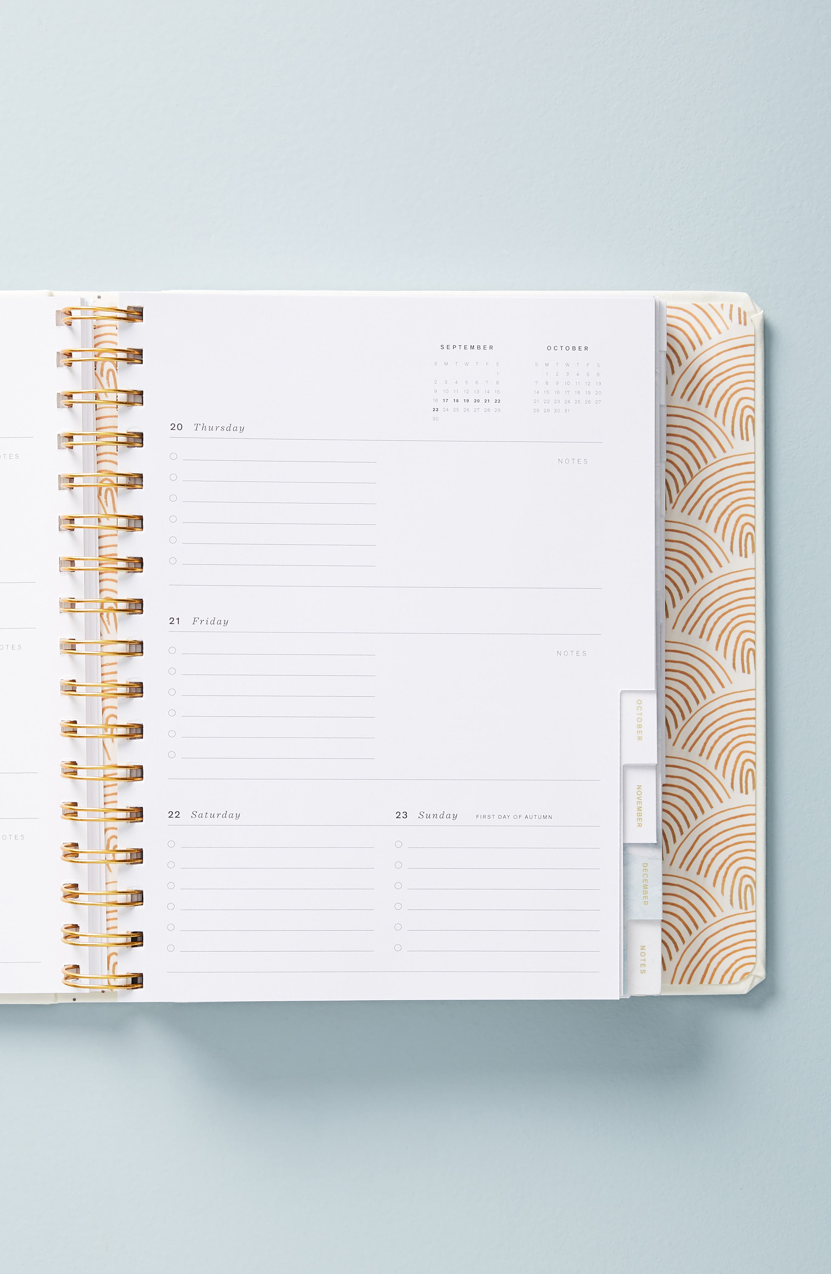 Ashley Mary 17-Month Hardcover Planner,                             Alternate thumbnail 3, color,                             111