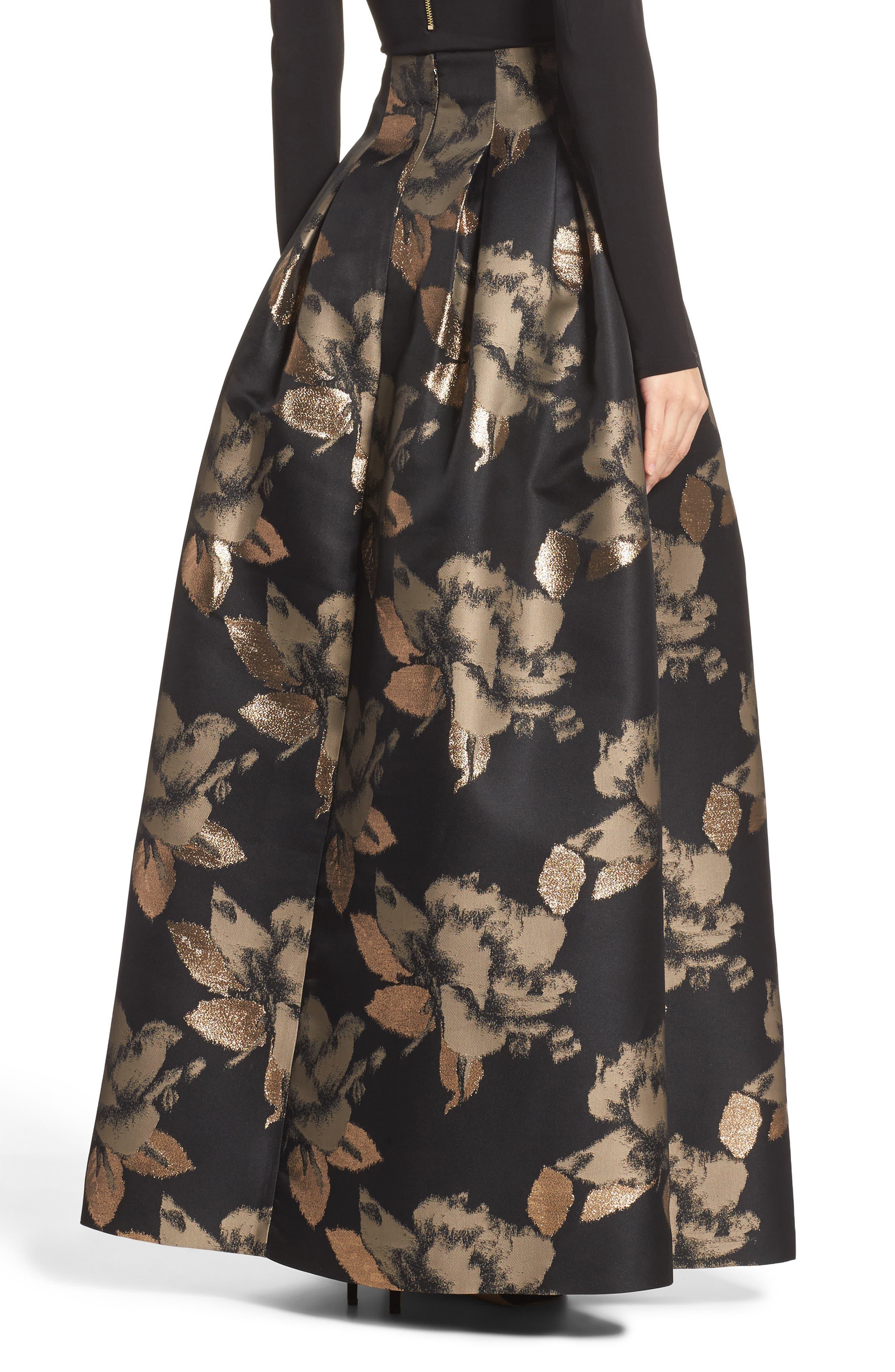 High Waist Ball Skirt,                             Alternate thumbnail 2, color,                             008