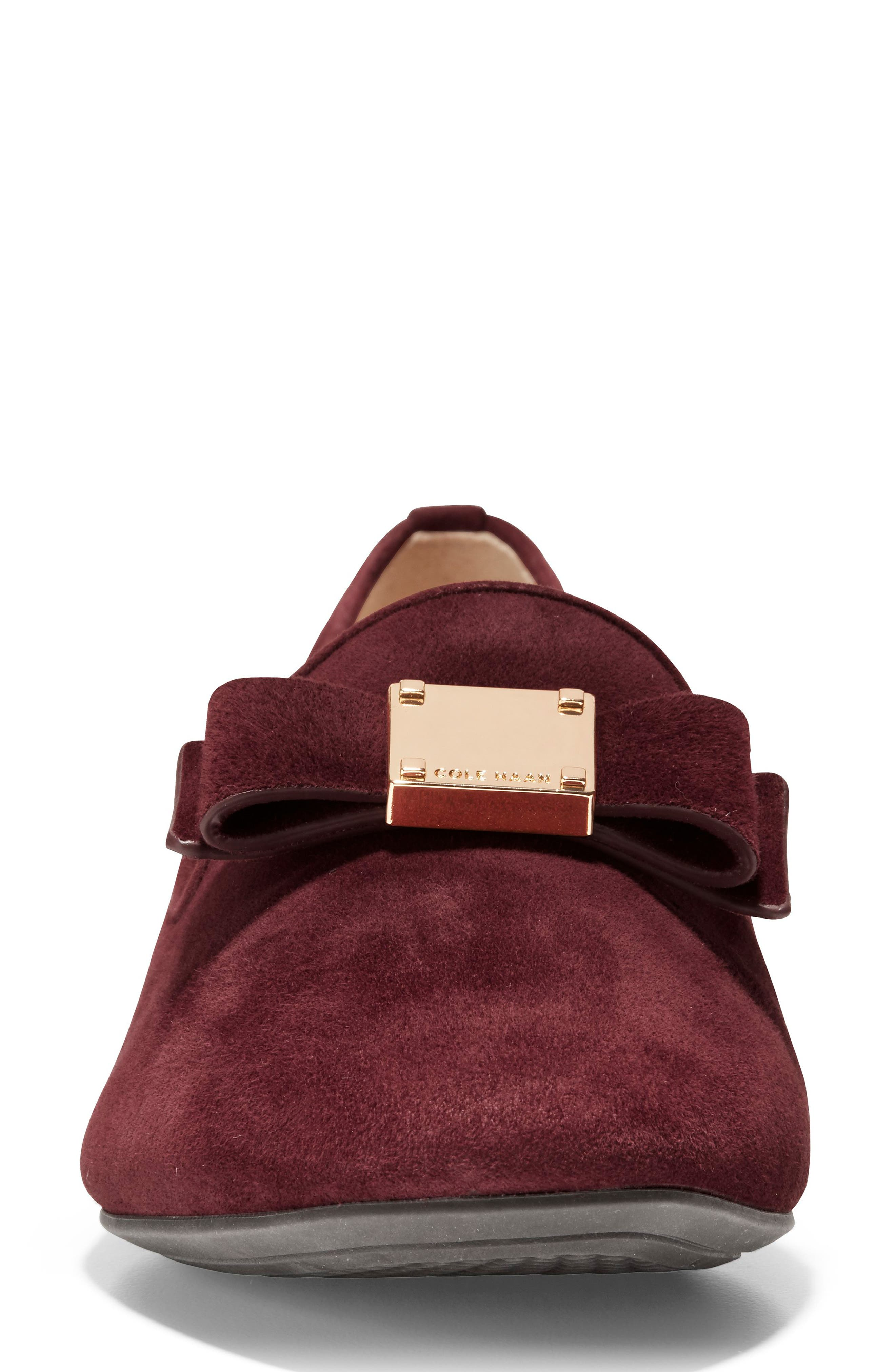 Tali Bow Loafer,                             Alternate thumbnail 4, color,                             605