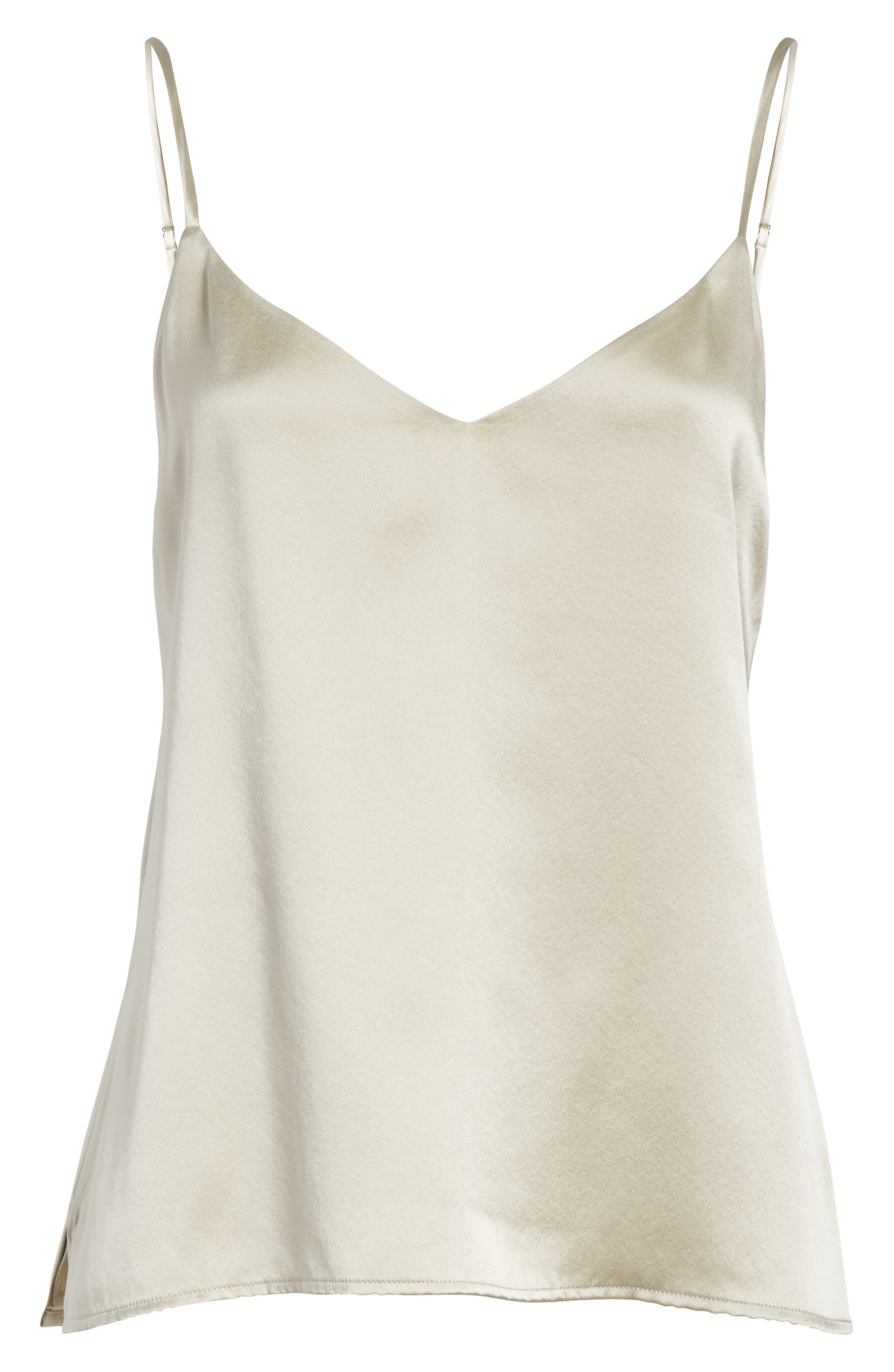 Jane Silk Camisole,                             Alternate thumbnail 6, color,                             040