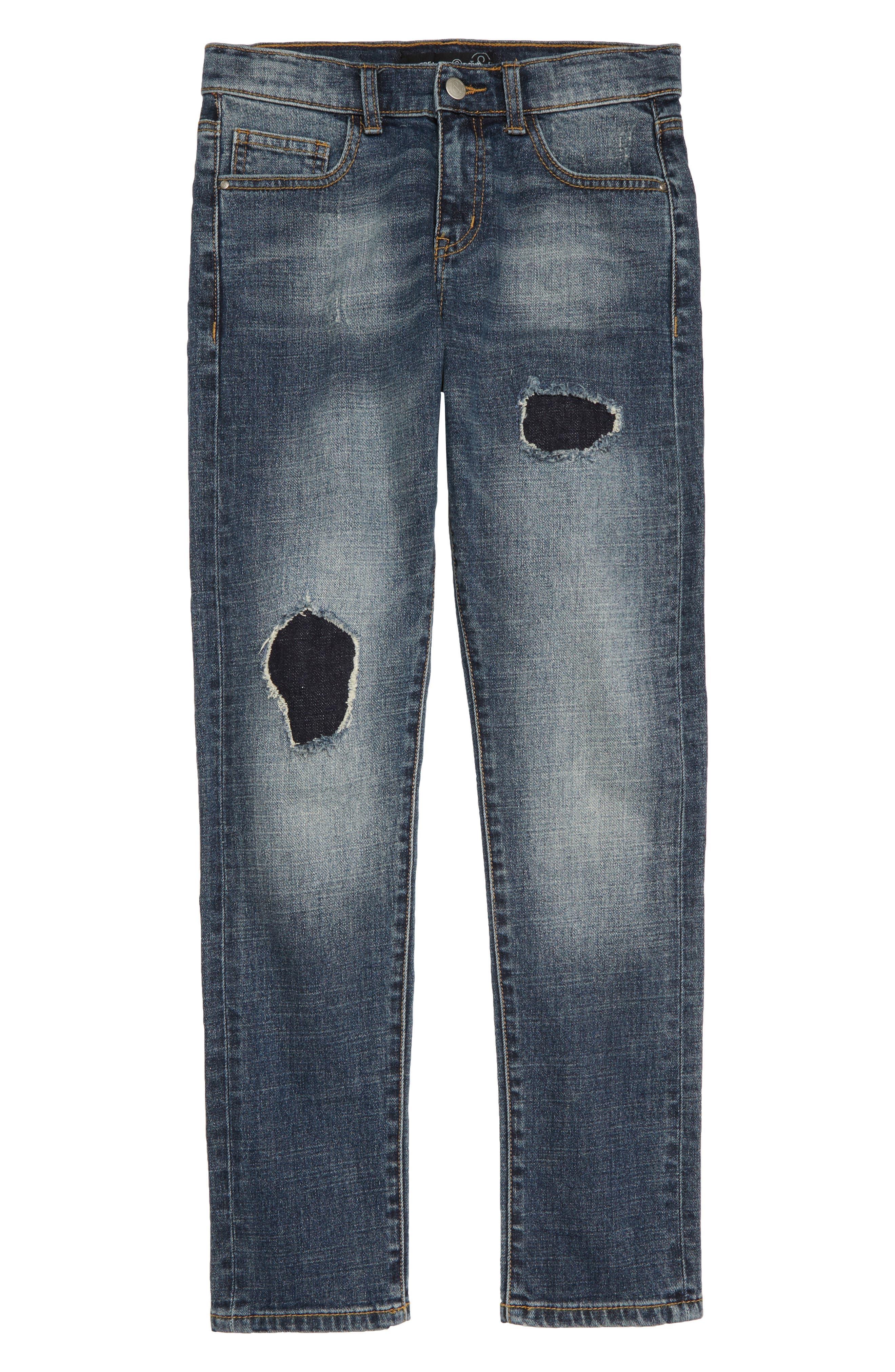 Slim Fit Jeans,                             Main thumbnail 1, color,                             401
