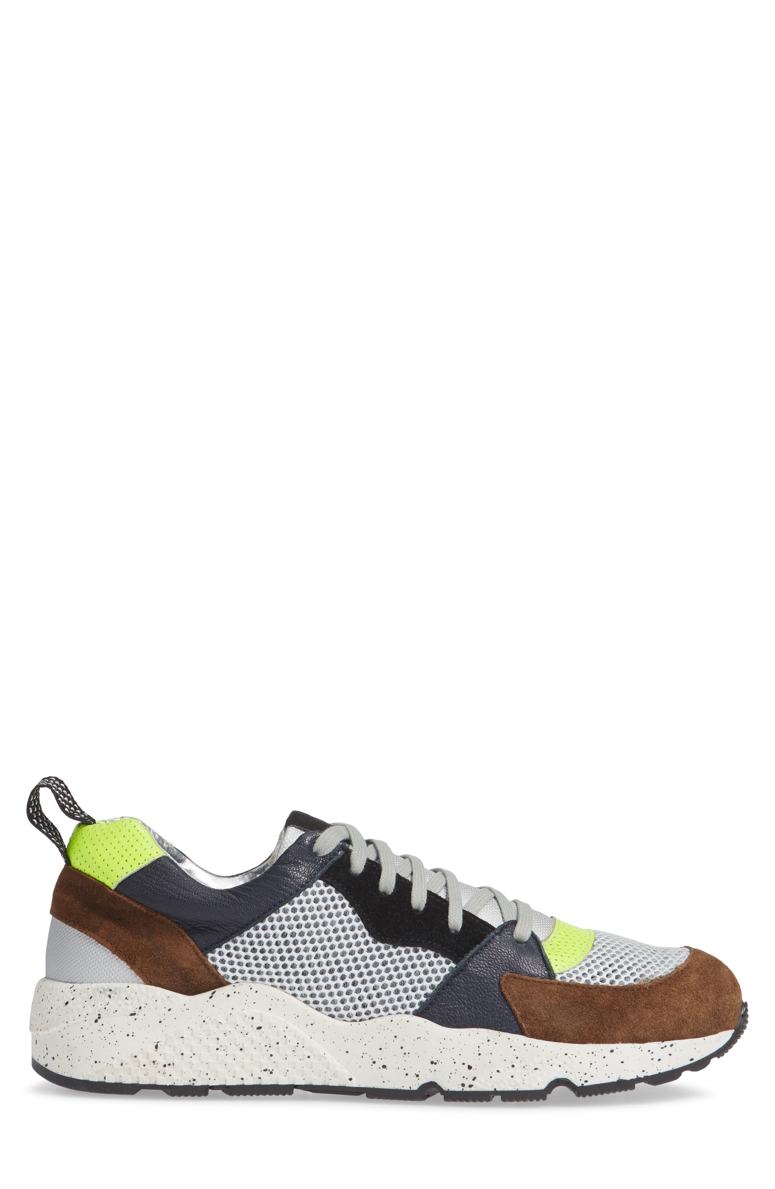 P448,                             A8Alex Sneaker,                             Alternate thumbnail 3, color,                             YELLOW