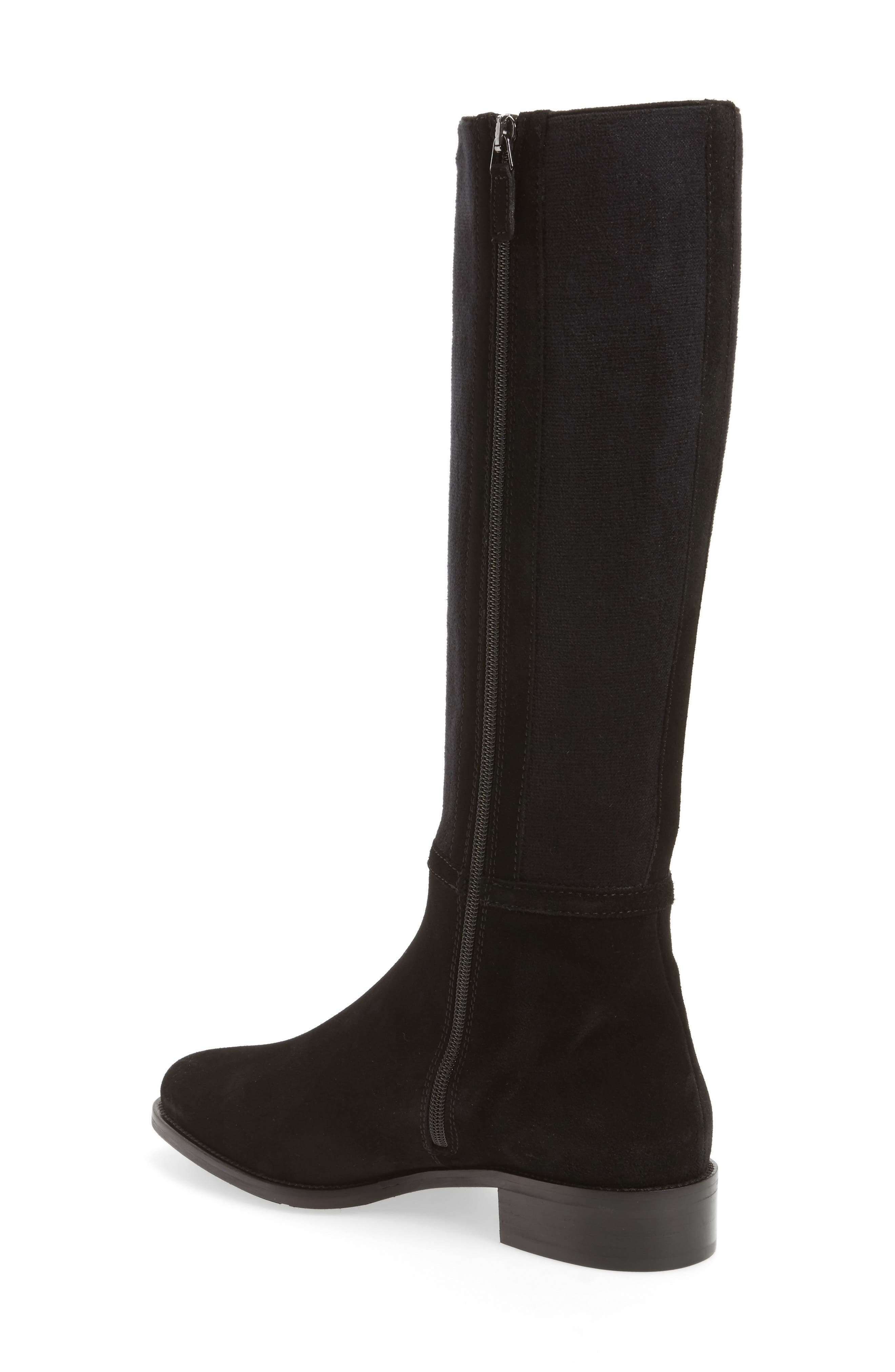 Nicolette Knee High Weatherproof Boot,                             Alternate thumbnail 2, color,                             001