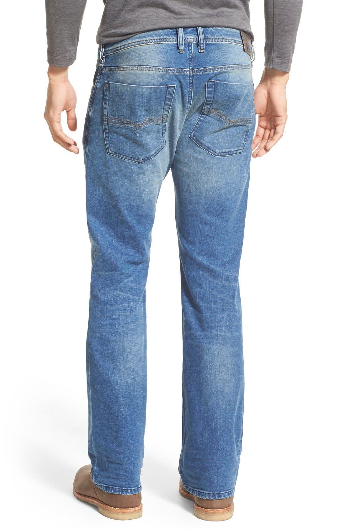 'Zatiny' Bootcut Jeans,                             Alternate thumbnail 3, color,                             400