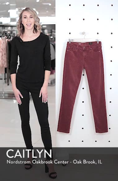 'Prima' Corduroy Skinny Pants, sales video thumbnail