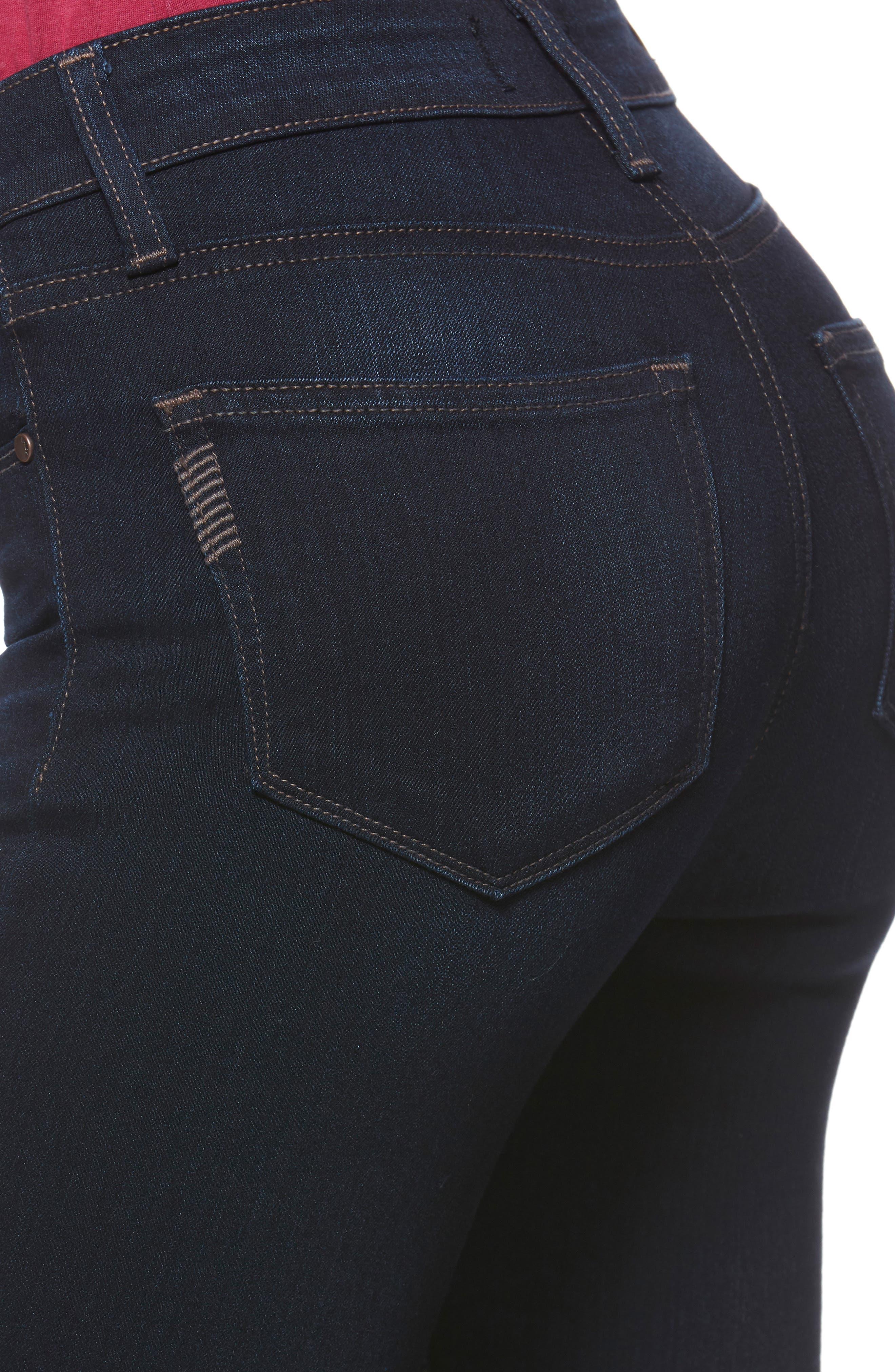 Transcend - Verdugo Ankle Skinny Jeans,                             Alternate thumbnail 4, color,                             400