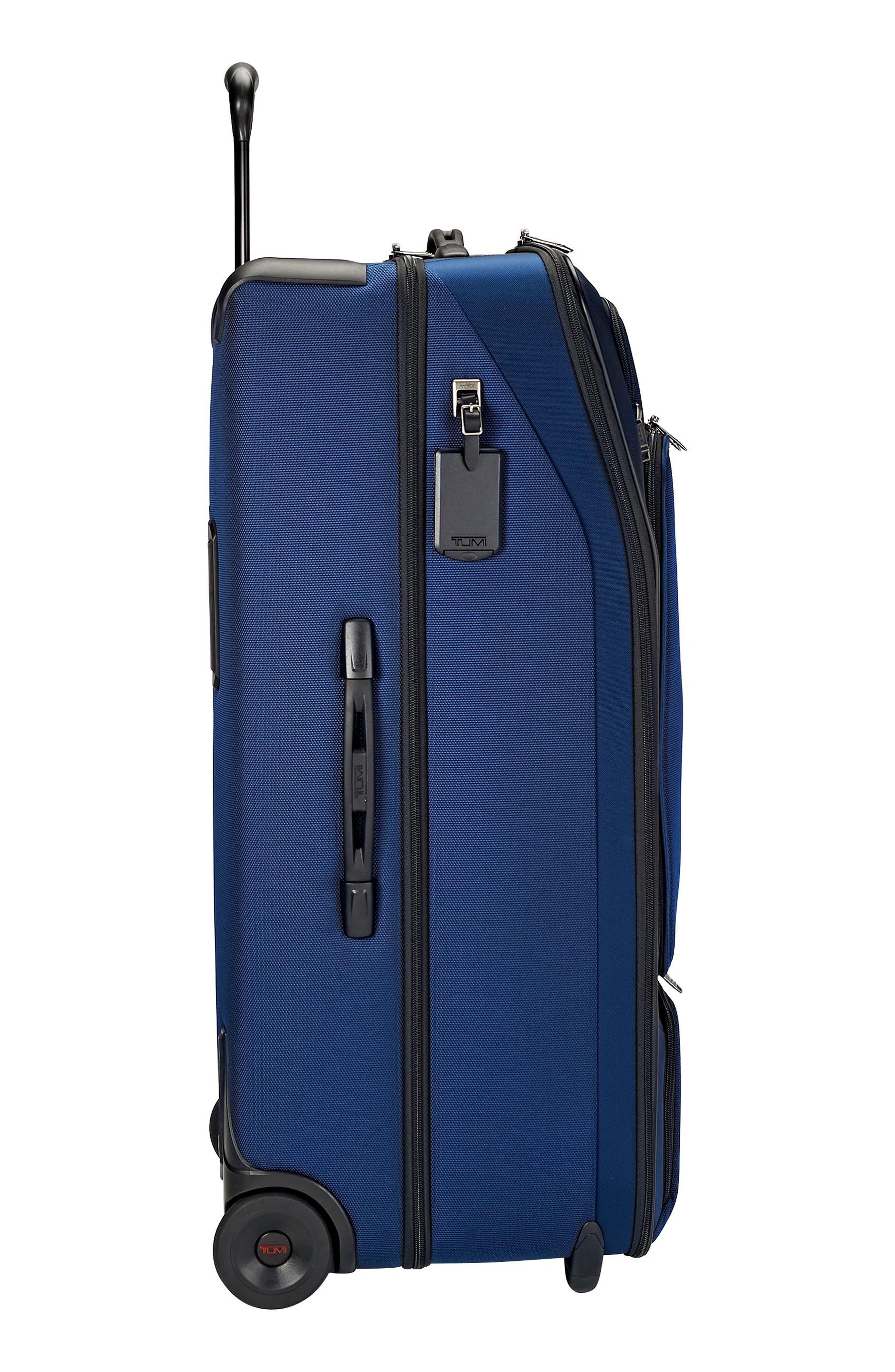 Merge - Rolling Duffel Bag,                             Alternate thumbnail 3, color,                             OCEAN BLUE