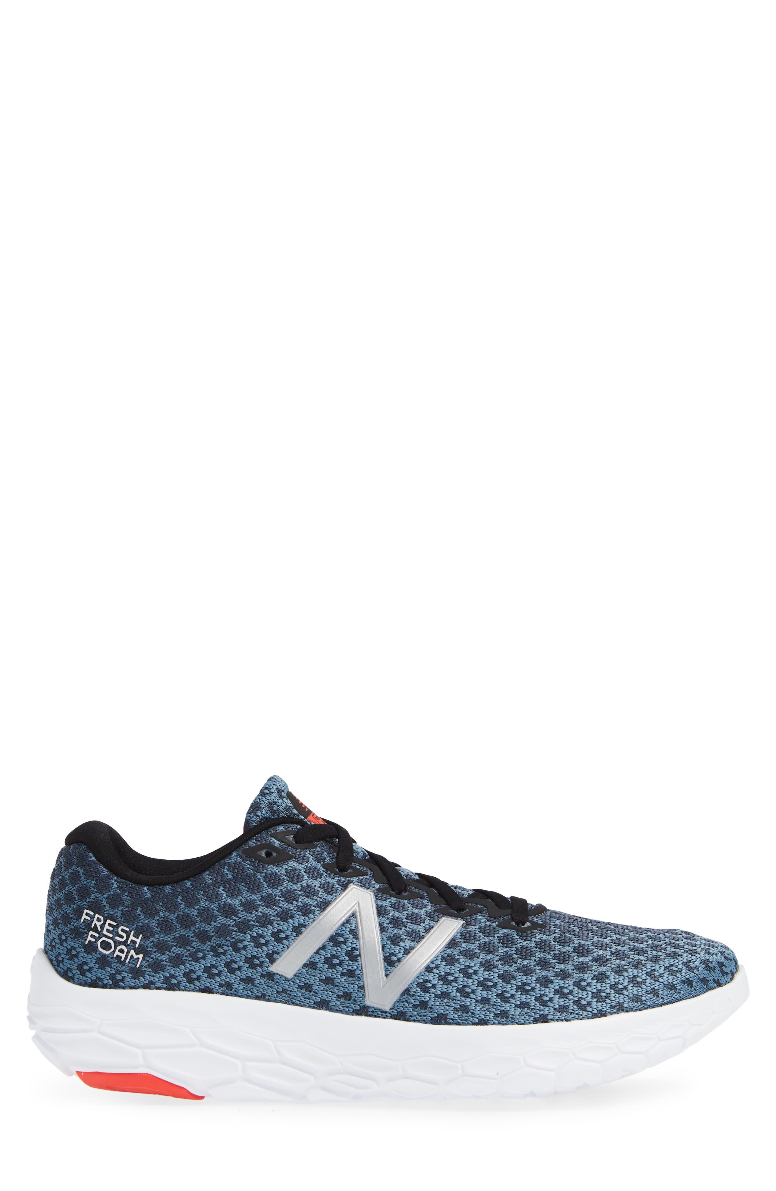 Fresh Foam Beacon Running Shoe,                             Alternate thumbnail 3, color,                             PETROL