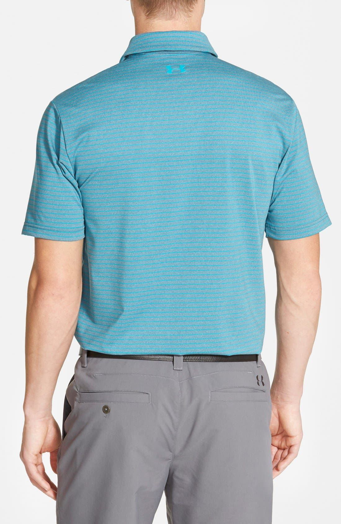 'Playoff' Loose Fit Short Sleeve Polo,                             Alternate thumbnail 82, color,