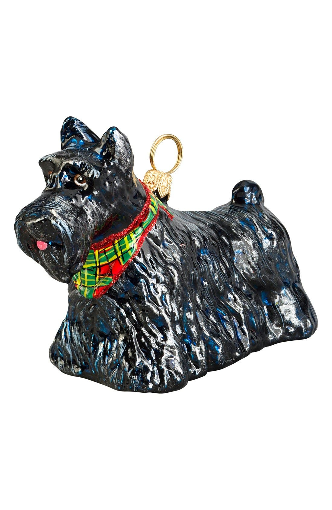 'Scottish Terrier' Ornament,                             Main thumbnail 1, color,                             SCOTTISH TERRIER